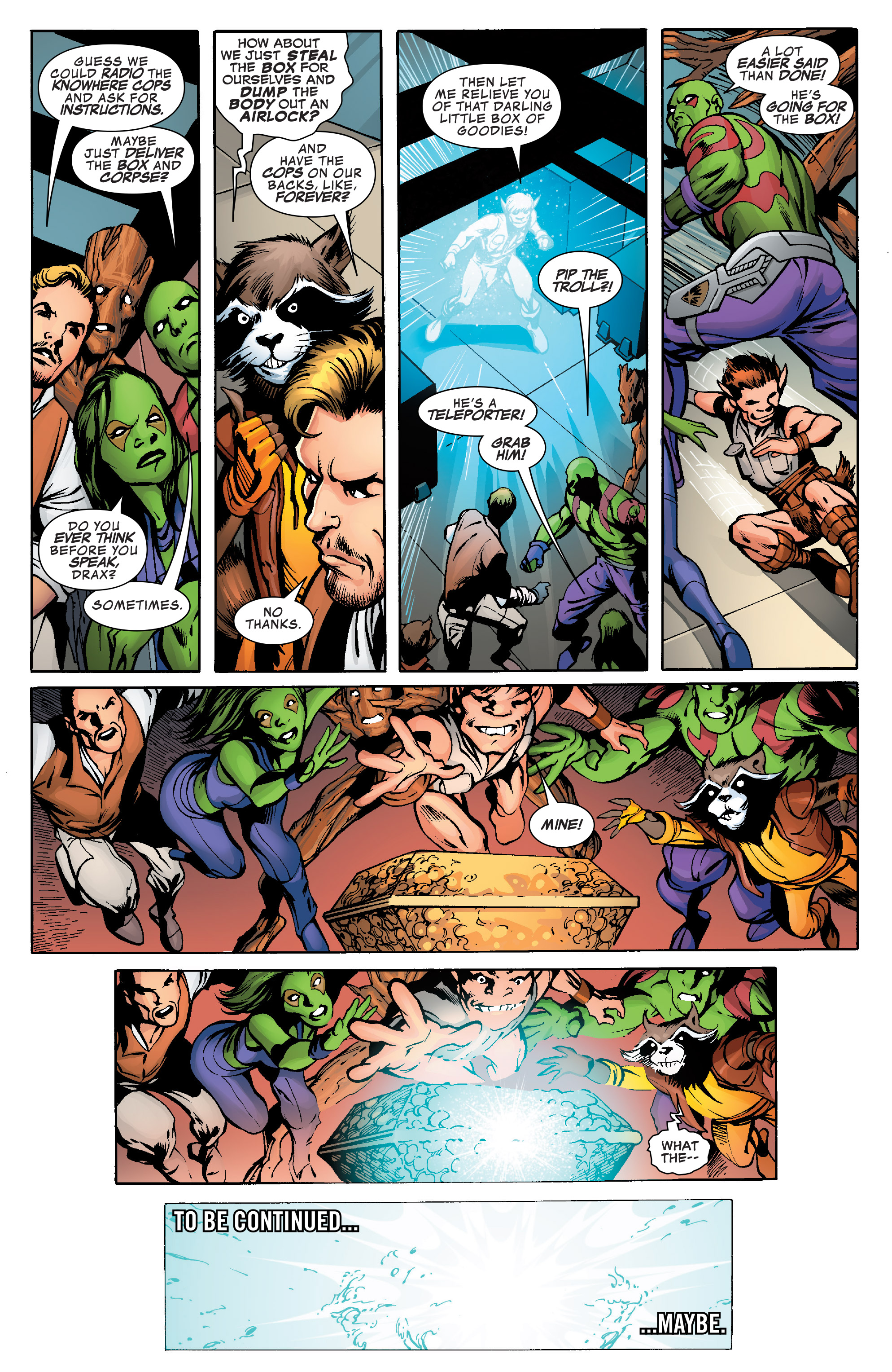 Read online Guardians of the Galaxy: Mother Entropy comic -  Issue #1 - 20