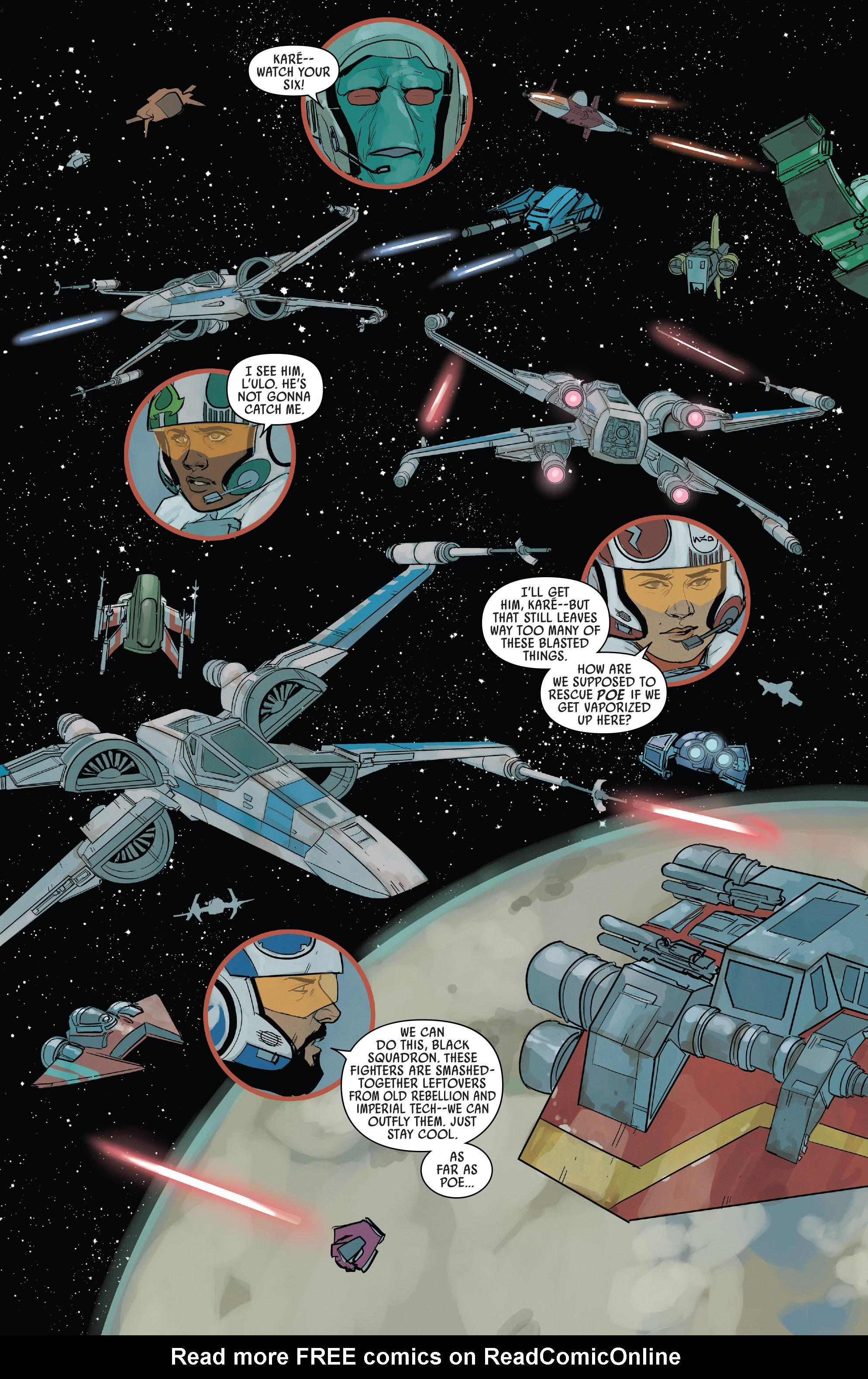 Read online Star Wars: Poe Dameron comic -  Issue #13 - 3