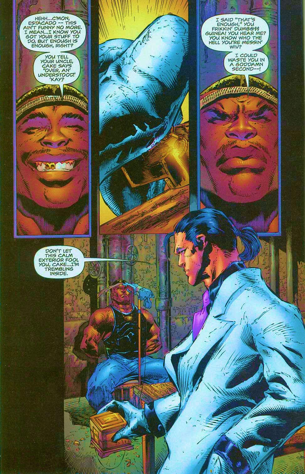 Read online Overkill: Witchblade/Aliens/Darkness/Predator comic -  Issue #1 - 13