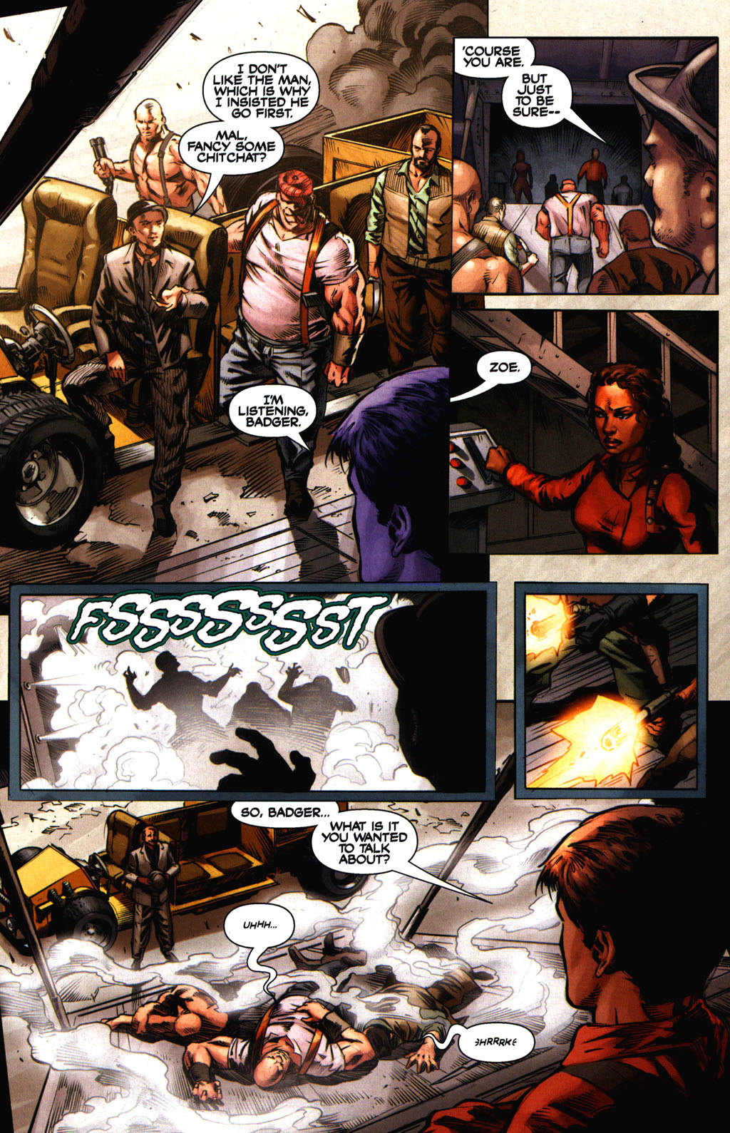 Read online Serenity comic -  Issue #2 - 10