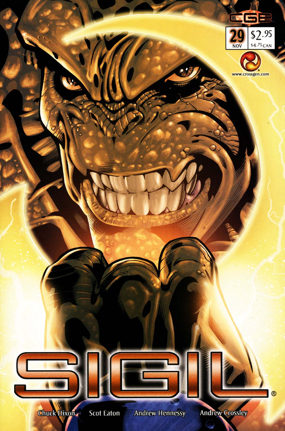 Read online Sigil (2000) comic -  Issue #29 - 1