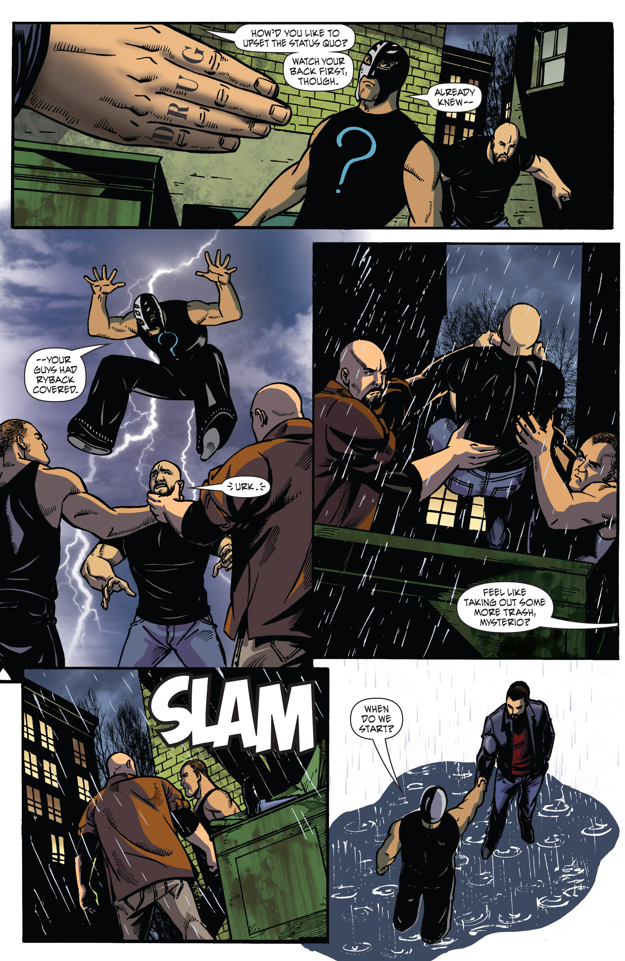 Read online WWE Superstars comic -  Issue #2 - 13
