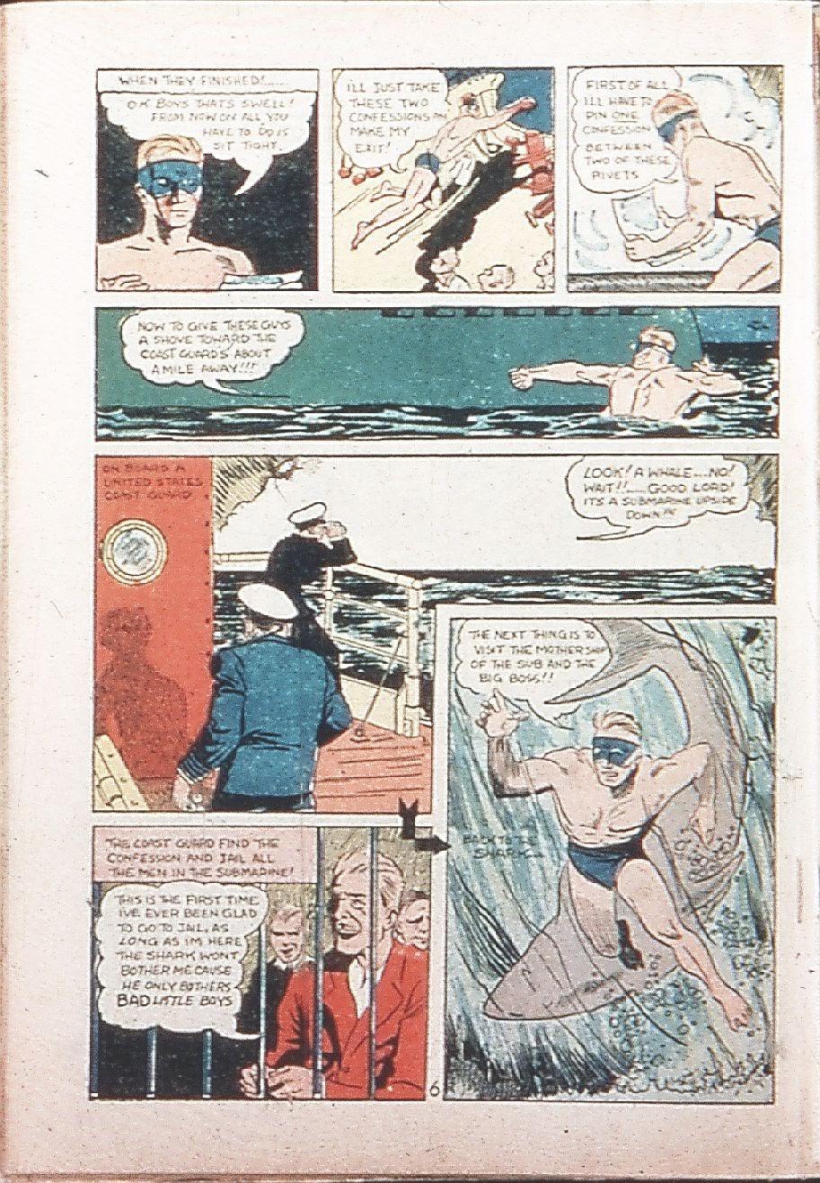 Read online Amazing Man Comics comic -  Issue #9 - 65