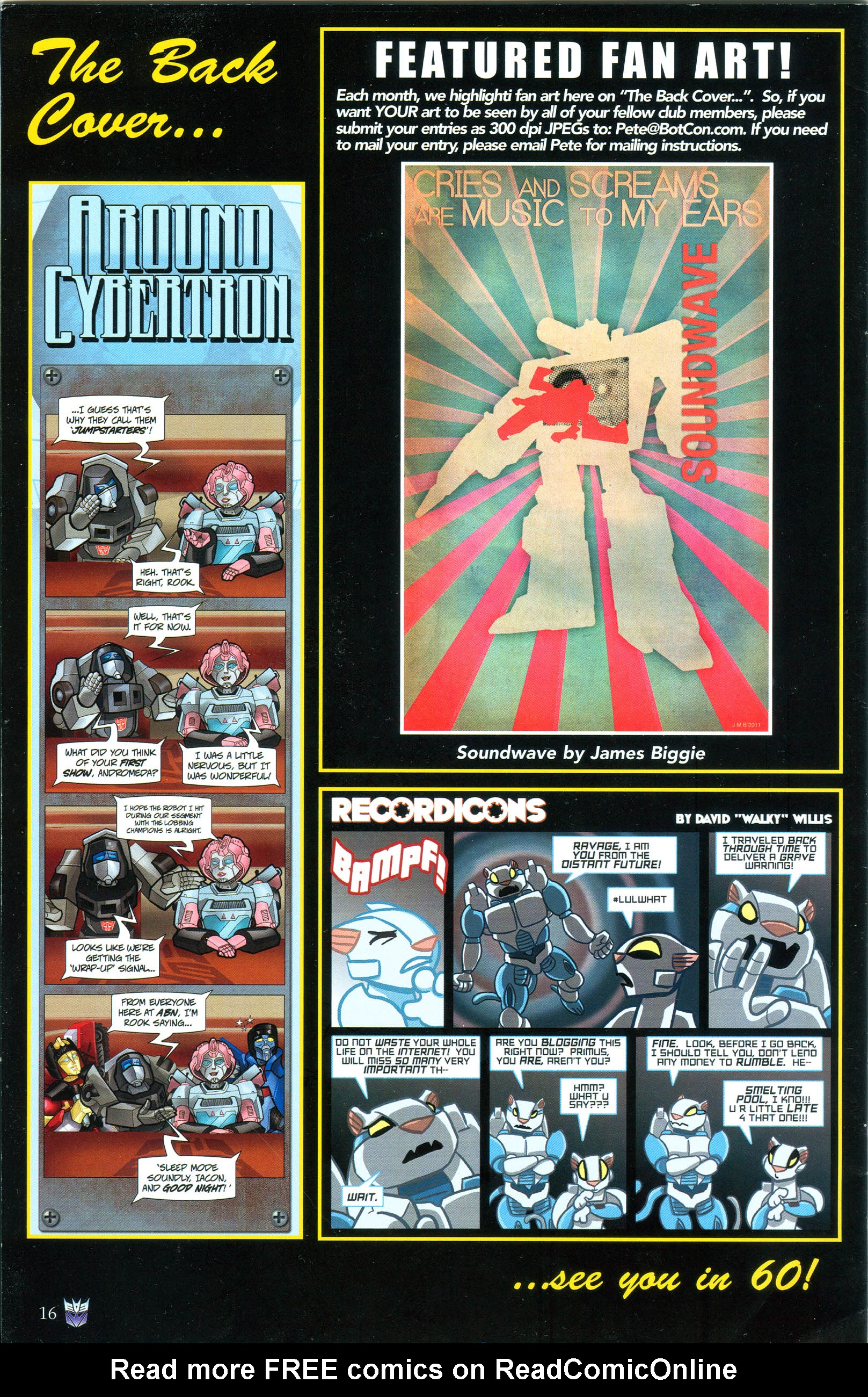 Read online Transformers: Collectors' Club comic -  Issue #40 - 16