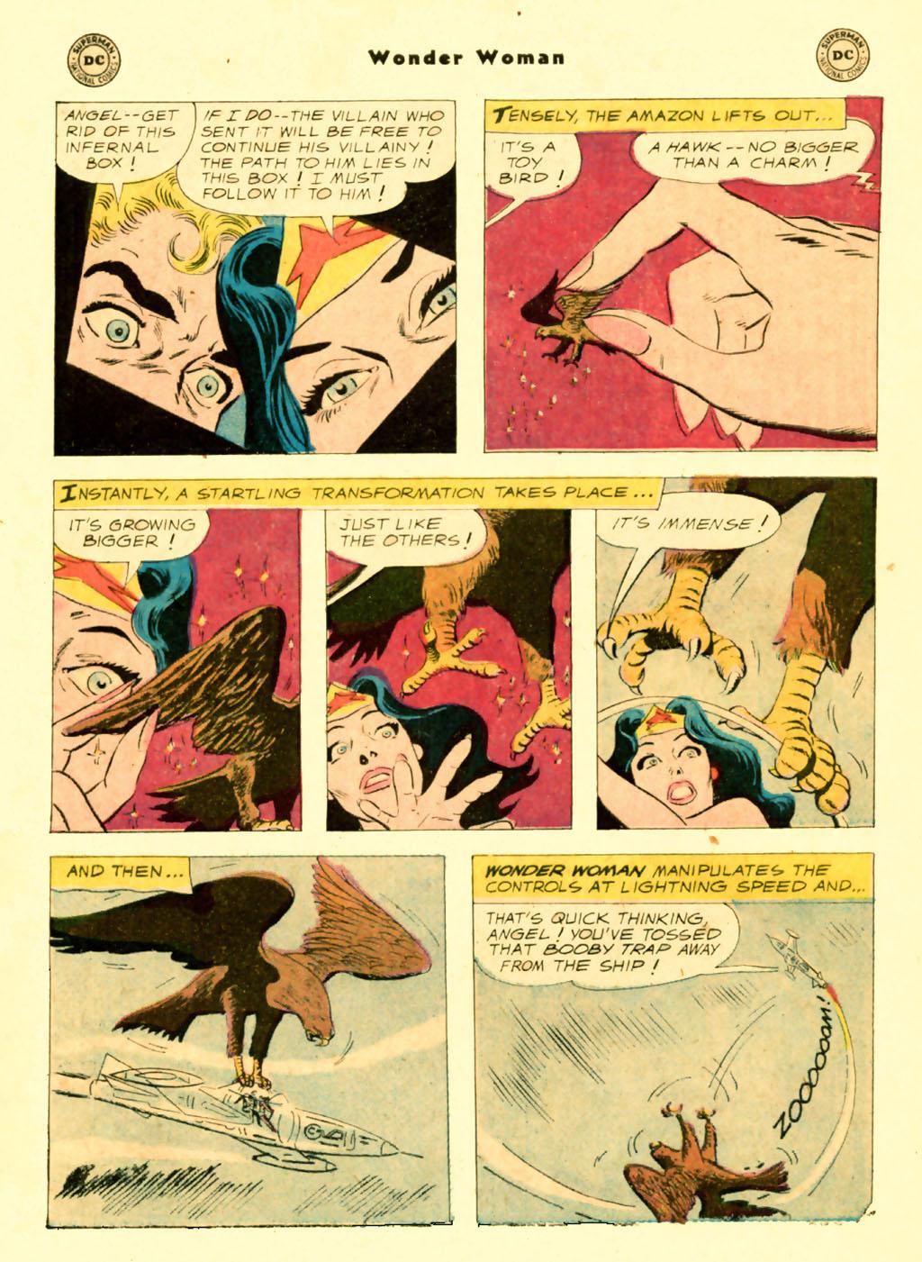 Read online Wonder Woman (1942) comic -  Issue #103 - 22