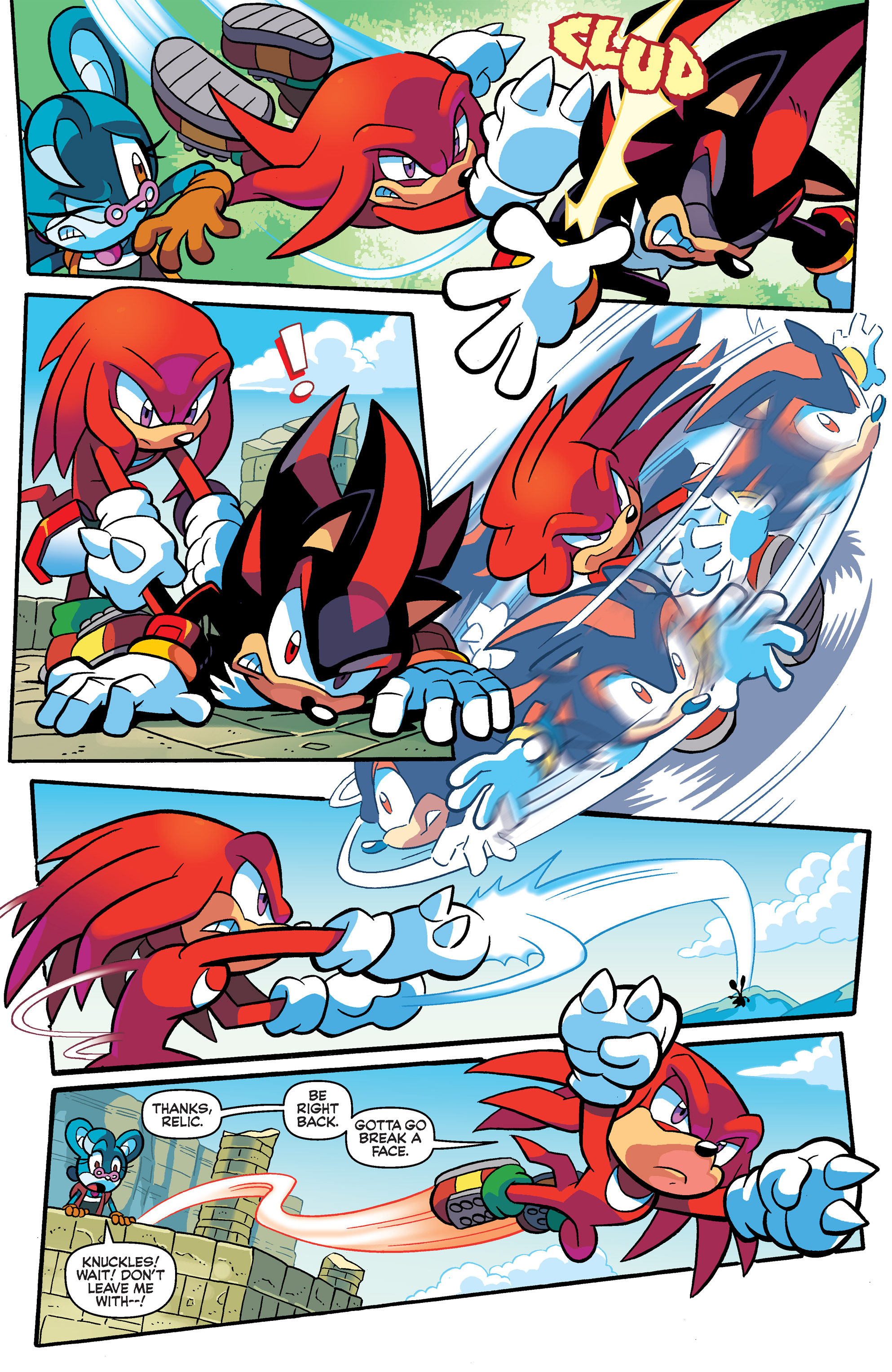 Read online Sonic Universe comic -  Issue #69 - 6