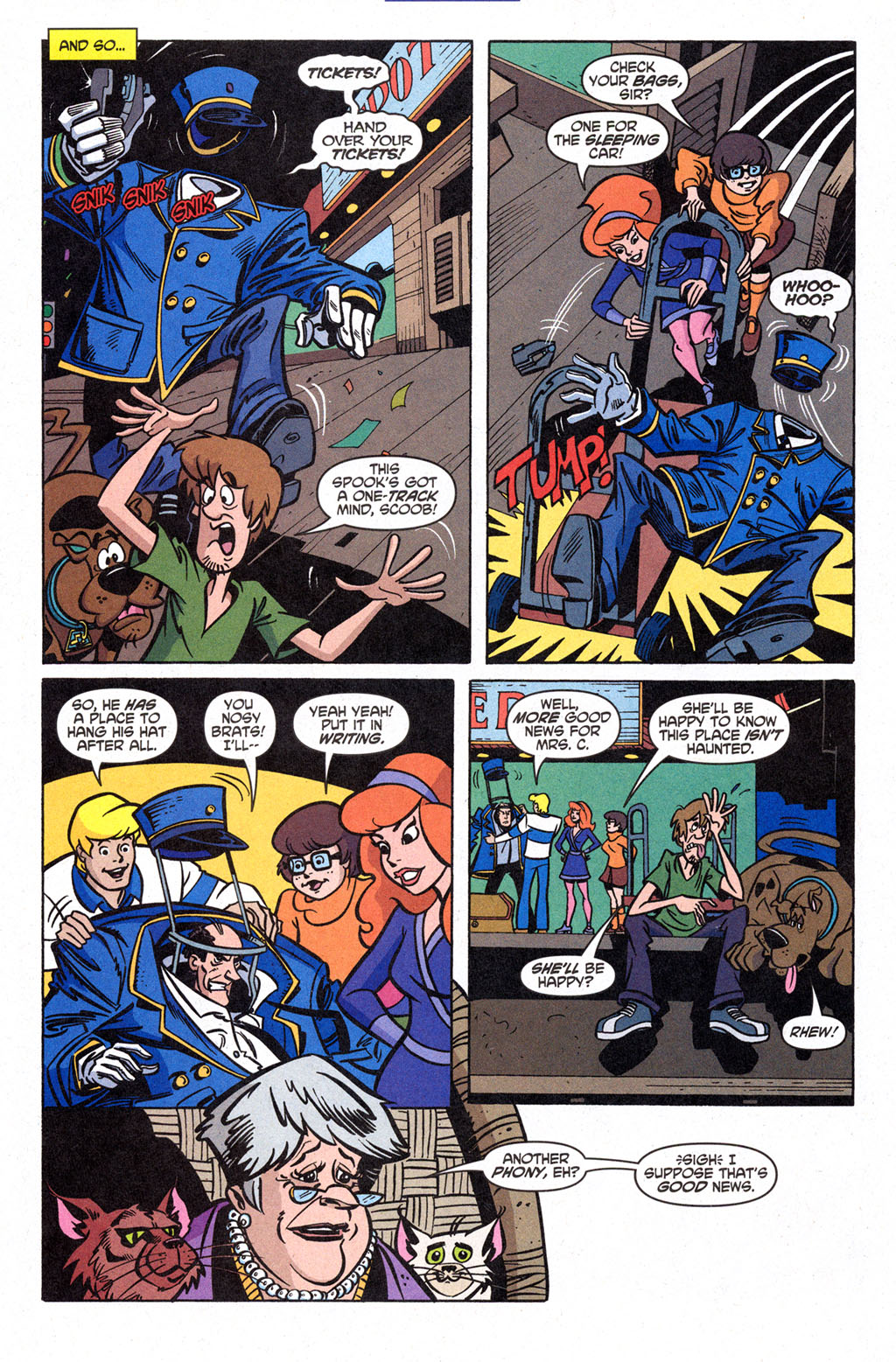 Read online Scooby-Doo (1997) comic -  Issue #98 - 5