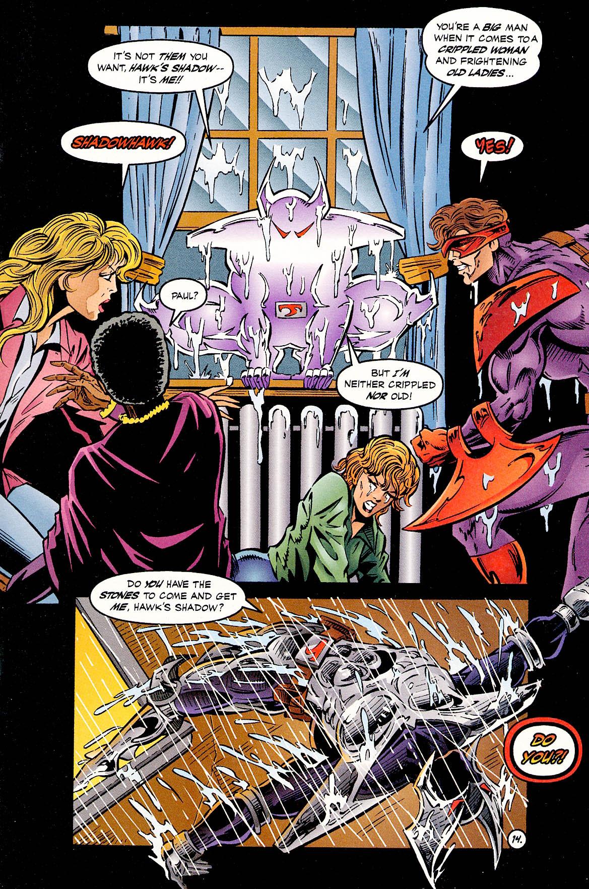 Read online ShadowHawk comic -  Issue #18 - 16