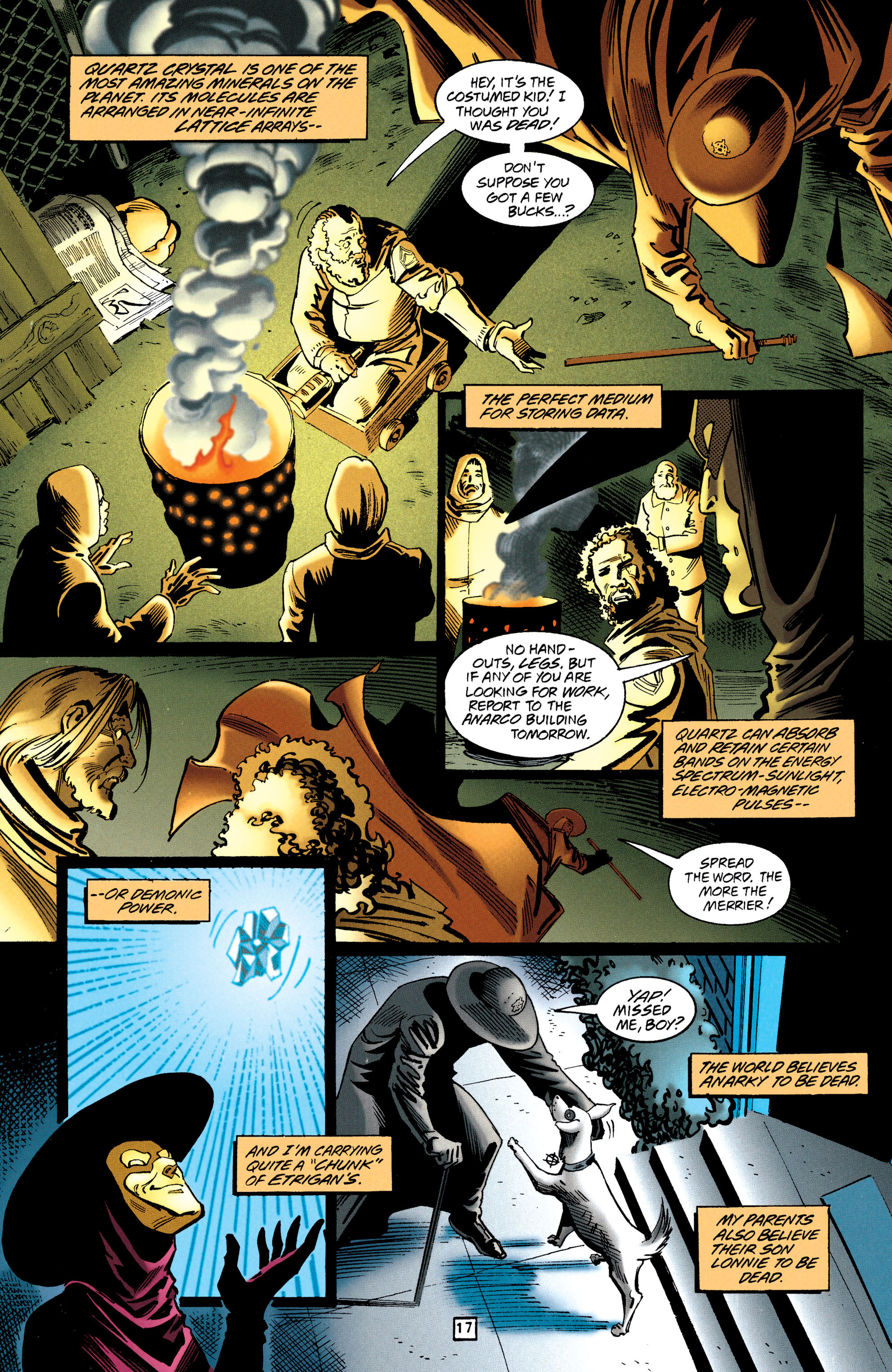 Read online Anarky (1997) comic -  Issue #1 - 17