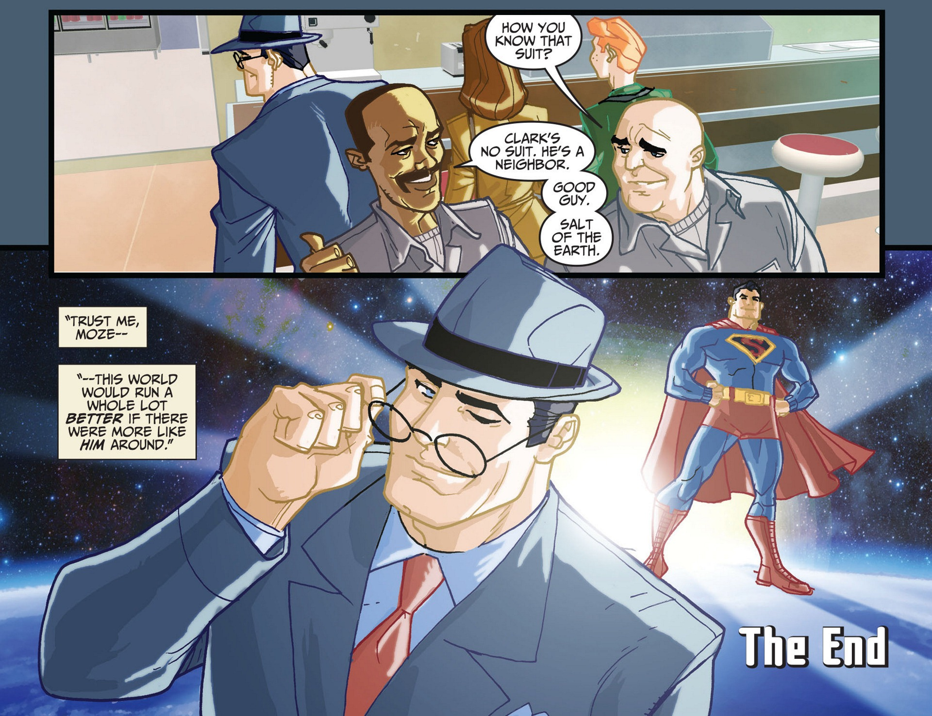 Read online Adventures of Superman [I] comic -  Issue #11 - 22