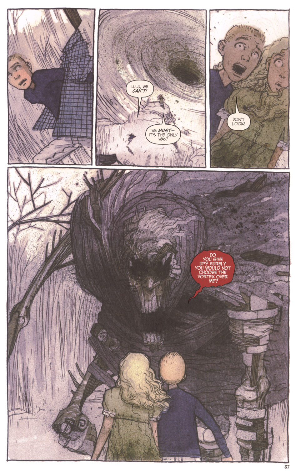 Read online Clive Barker's The Thief Of Always comic -  Issue #3 - 38