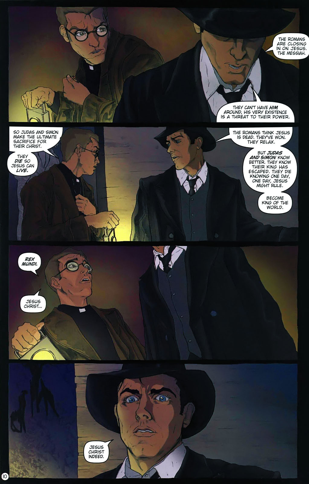 Read online Rex Mundi comic -  Issue #15 - 14