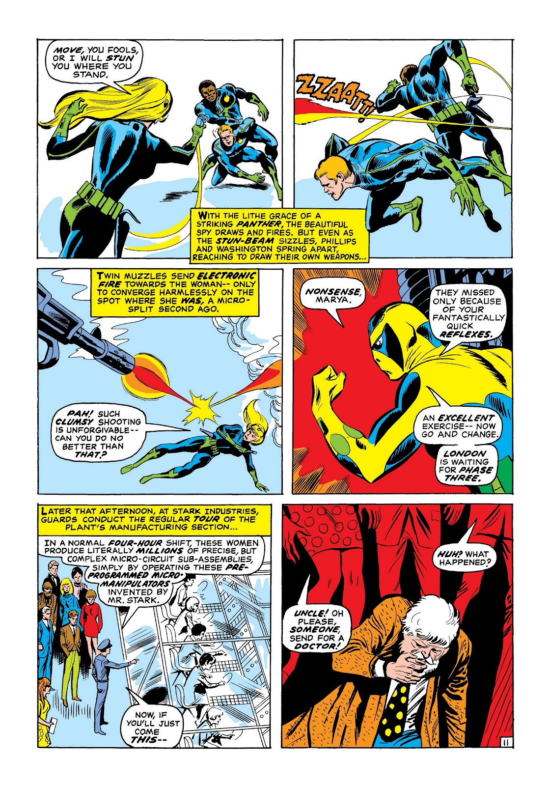 Read online Marvel Masterworks: The Invincible Iron Man comic -  Issue # TPB 7 (Part 2) - 60