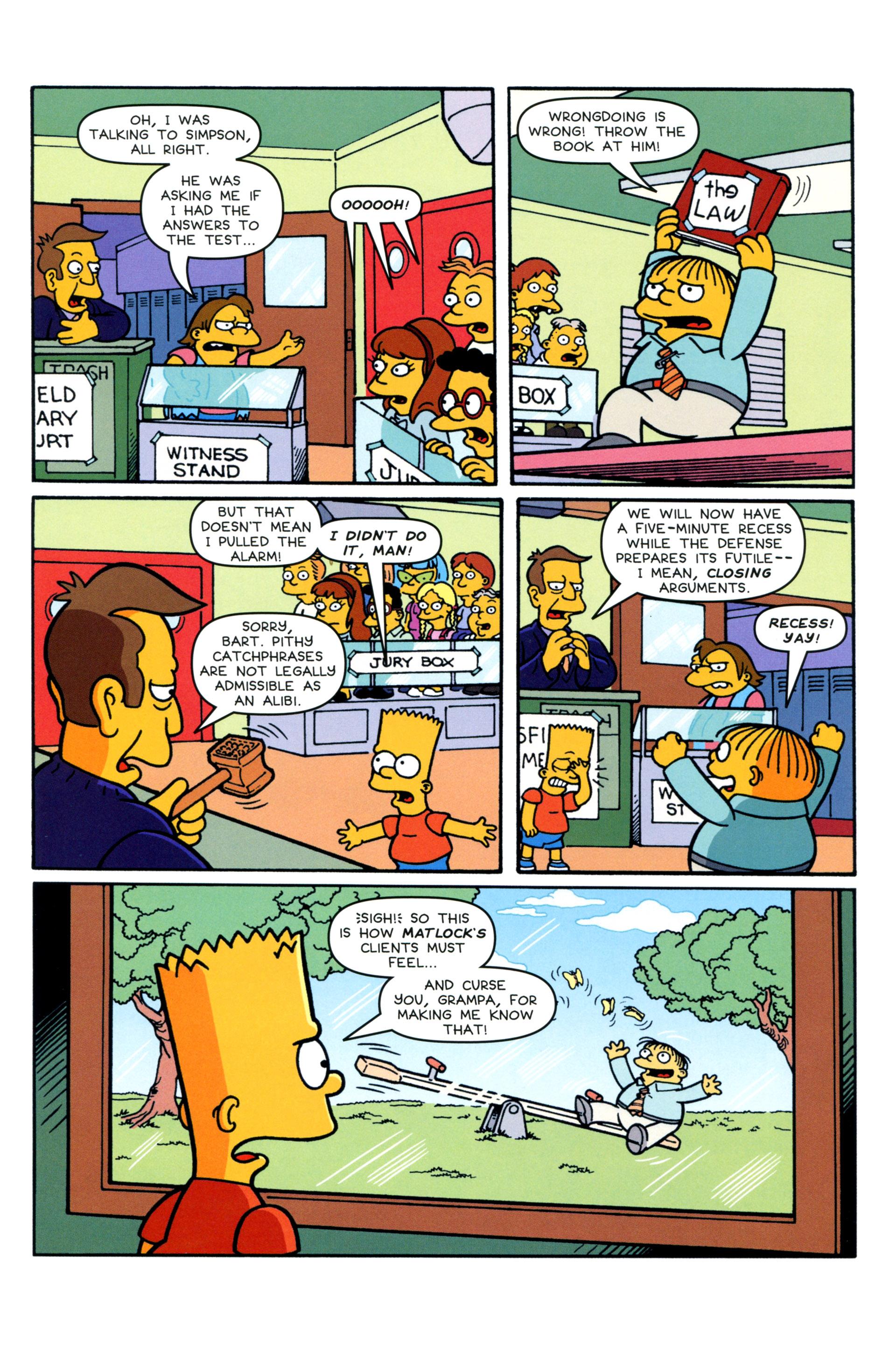Read online Simpsons Comics Presents Bart Simpson comic -  Issue #88 - 8