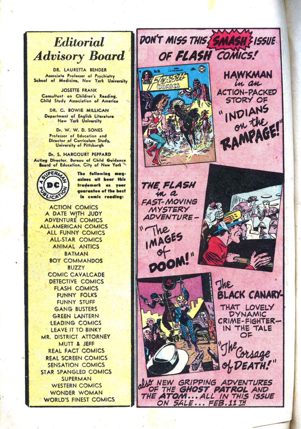 Comic Cavalcade issue 26 - Page 60
