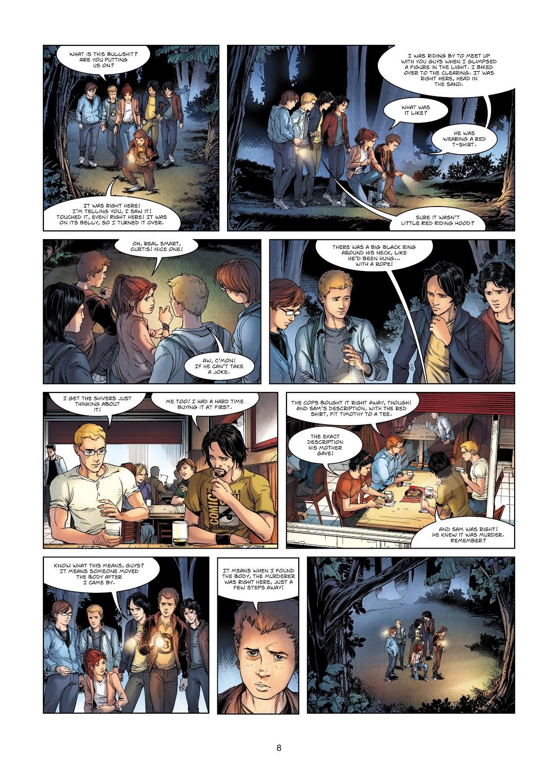Read online Vigilantes comic -  Issue #2 - 8