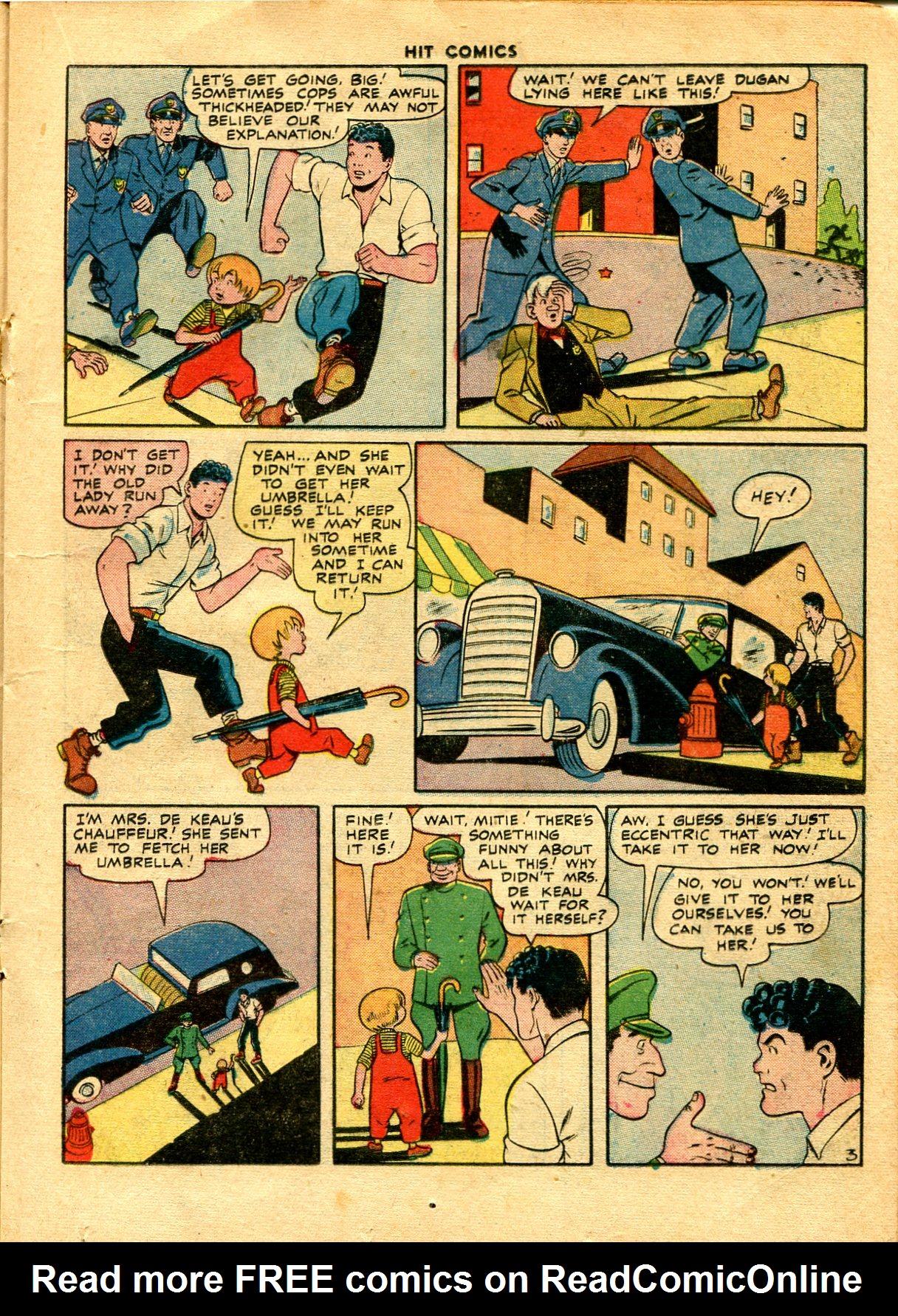 Read online Hit Comics comic -  Issue #48 - 23