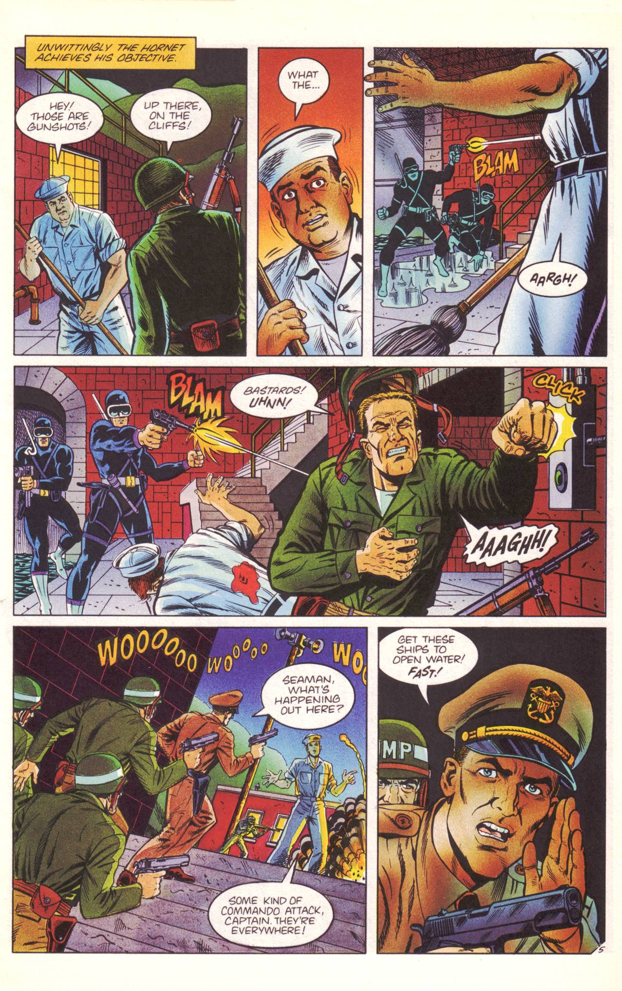 Read online Sting of The Green Hornet comic -  Issue #3 - 6