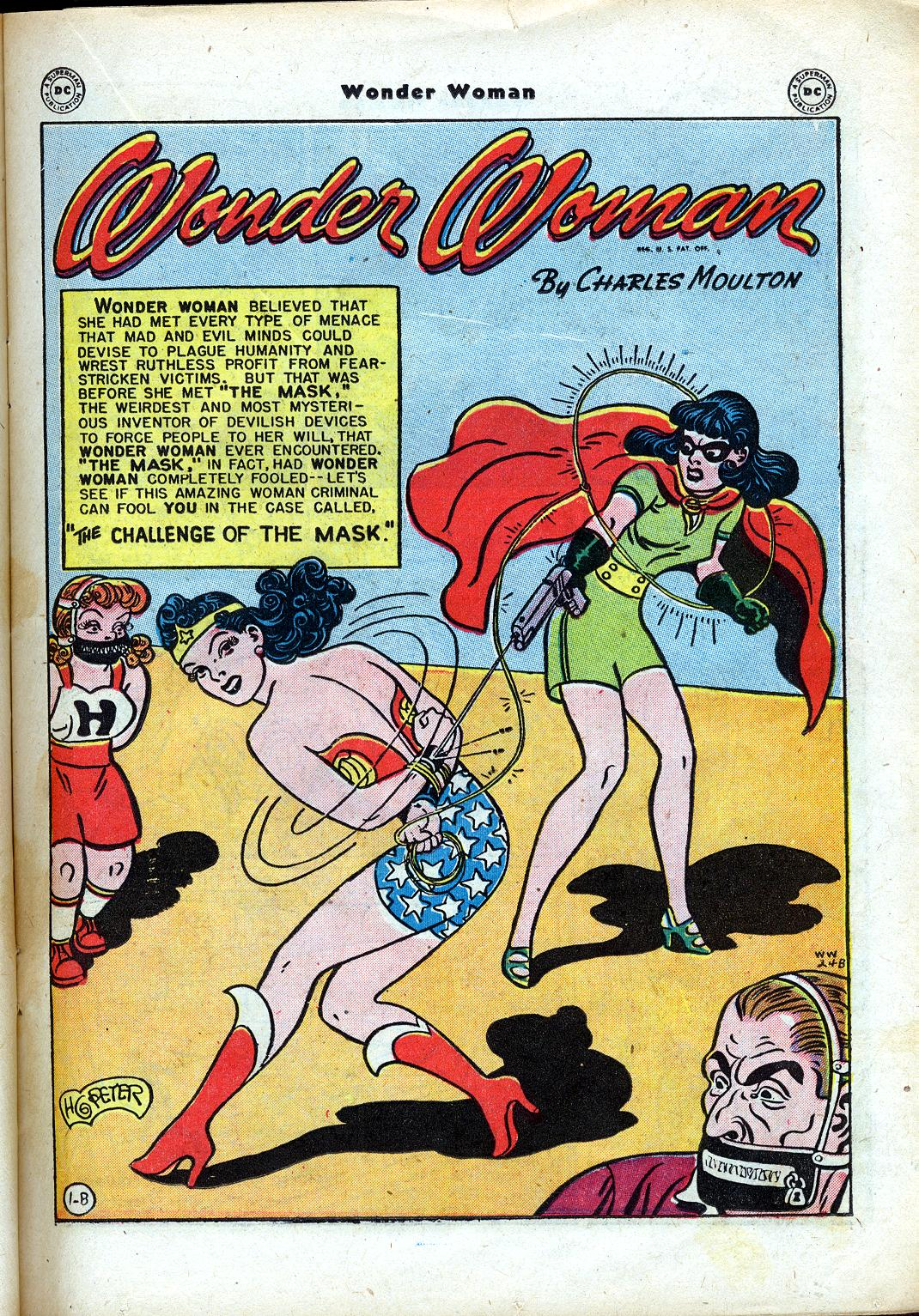 Read online Wonder Woman (1942) comic -  Issue #24 - 21