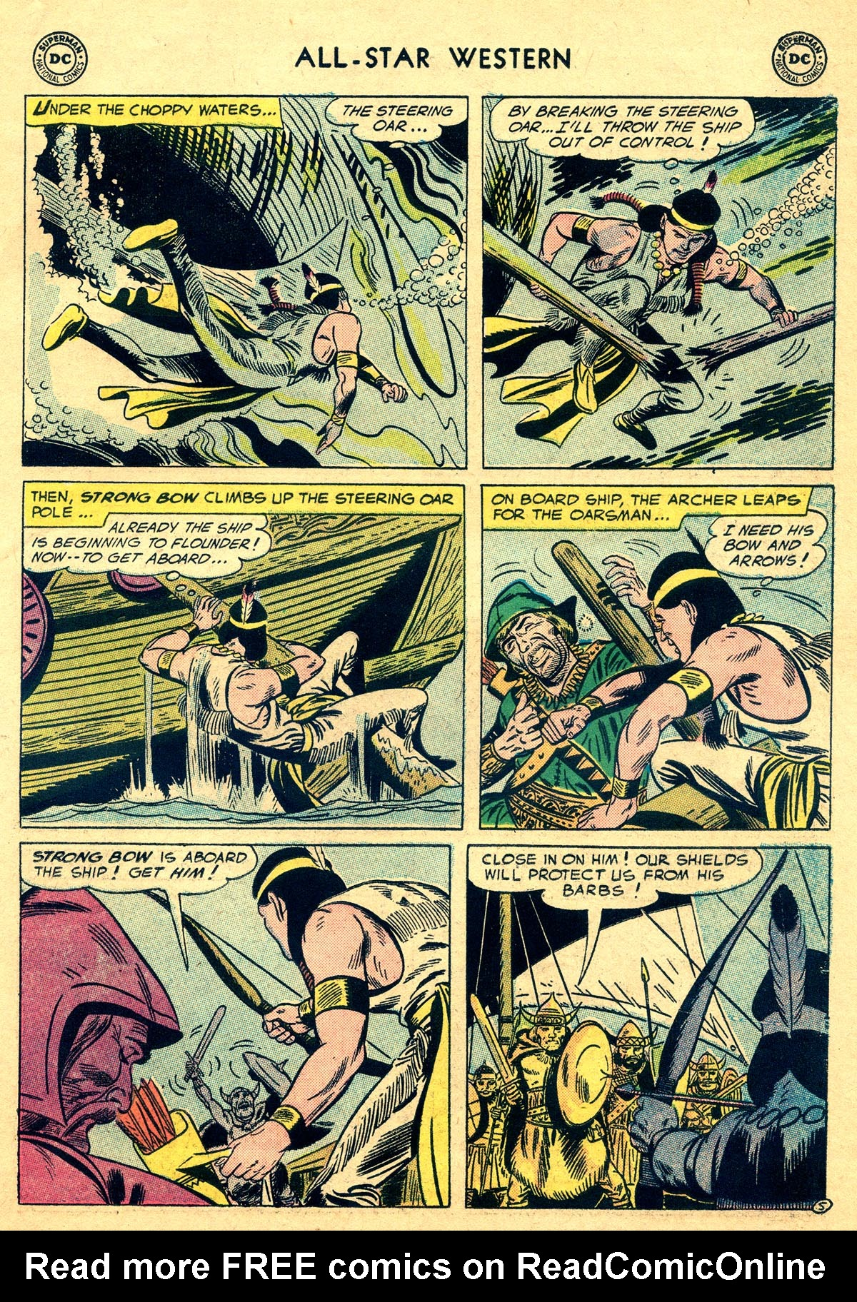Read online All-Star Western (1951) comic -  Issue #93 - 15