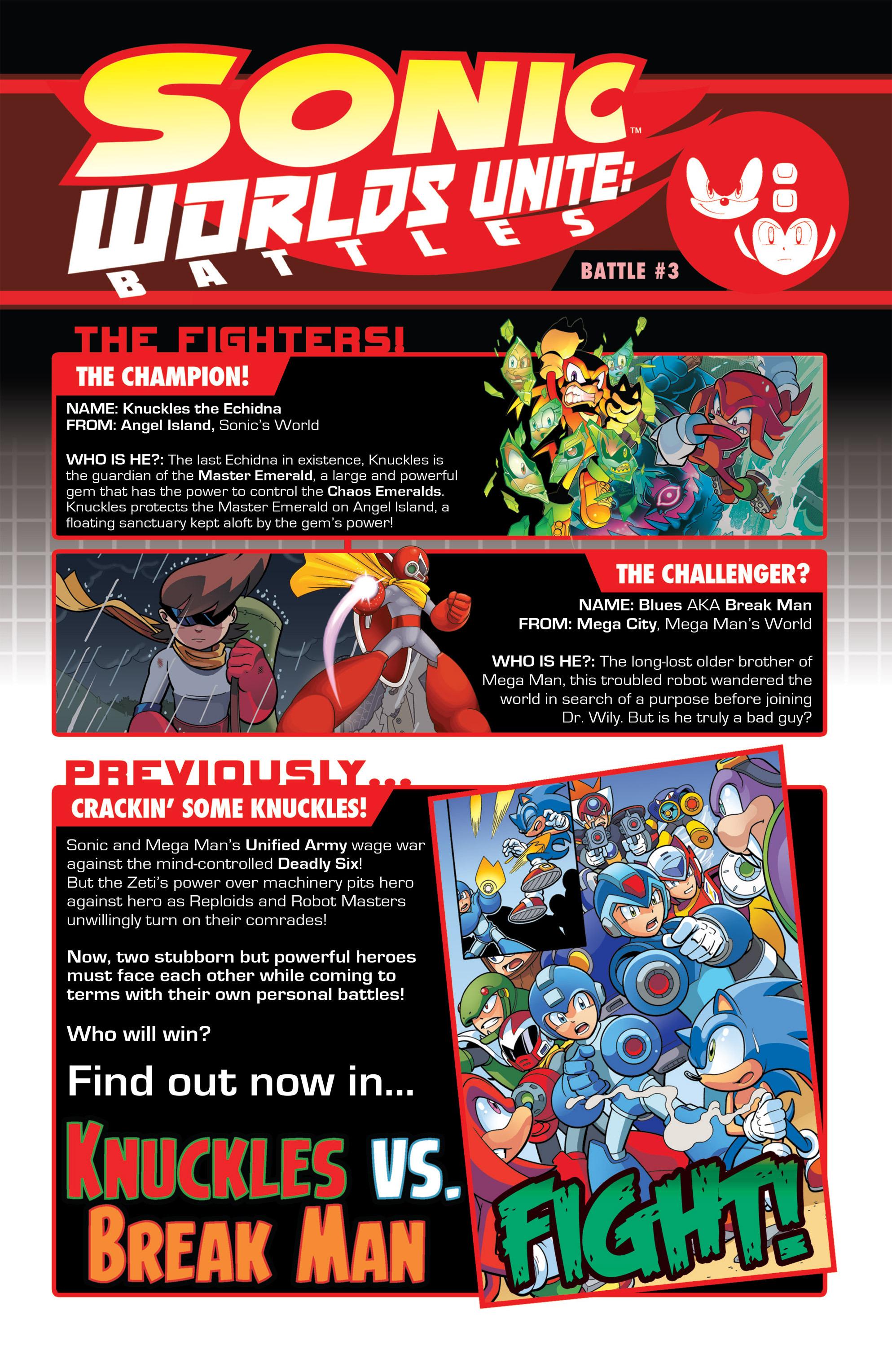 Read online Sonic: Worlds Unite Battles comic -  Issue # Full - 19
