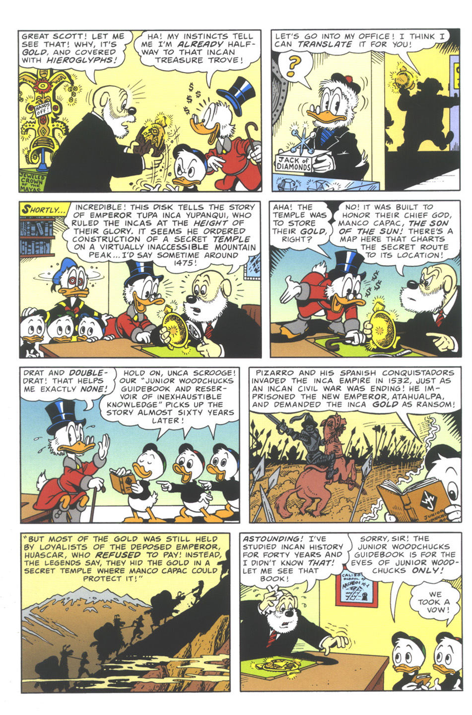 Read online Uncle Scrooge (1953) comic -  Issue #335 - 6