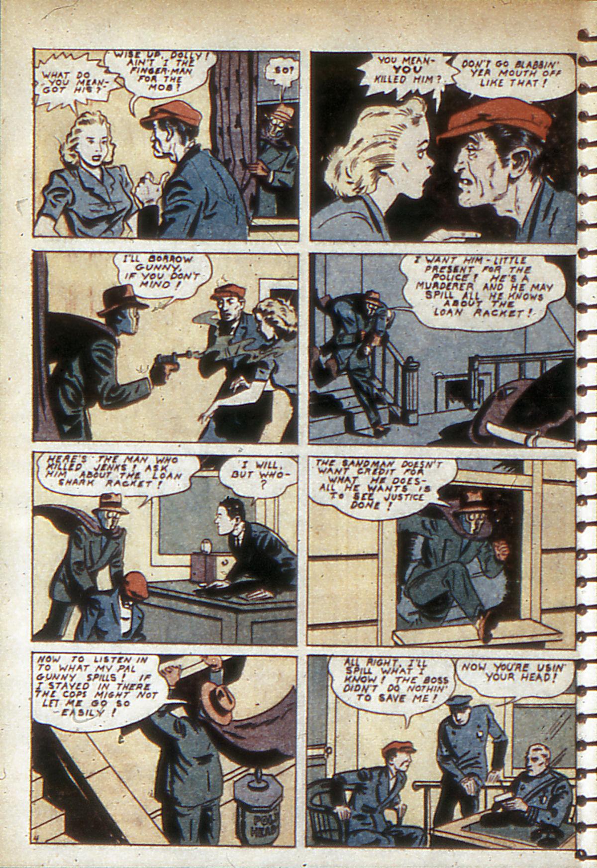 Read online Adventure Comics (1938) comic -  Issue #53 - 61