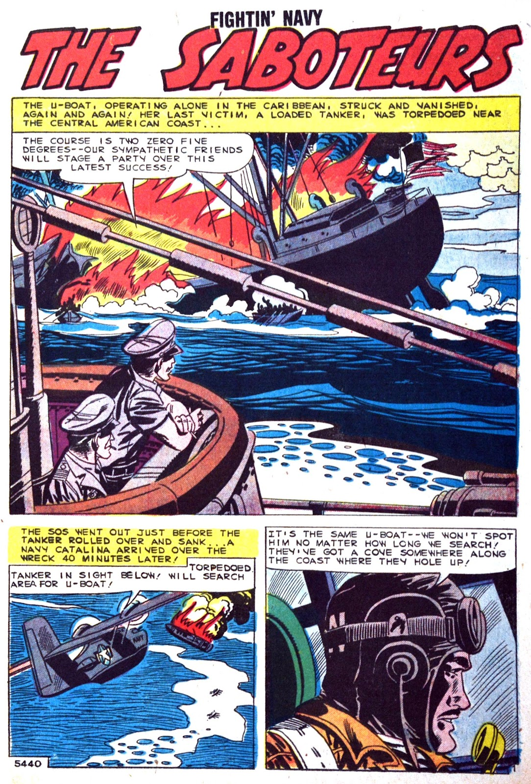 Read online Fightin' Navy comic -  Issue #89 - 11