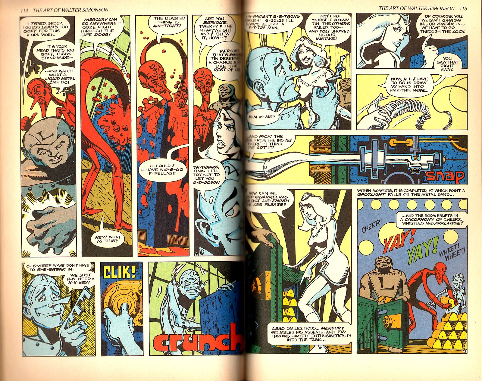 Read online The Art of Walter Simonson comic -  Issue # TPB - 59