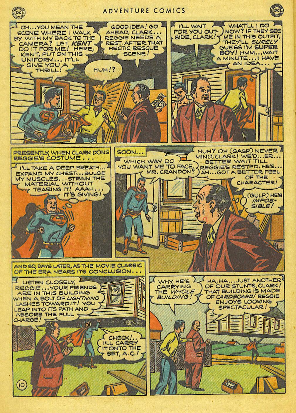 Read online Adventure Comics (1938) comic -  Issue #155 - 12