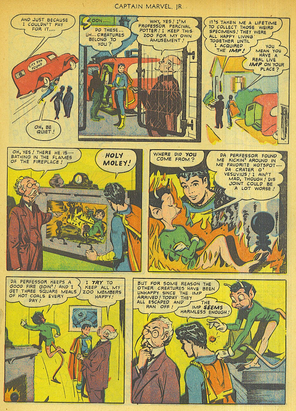 Captain Marvel, Jr. issue 96 - Page 21