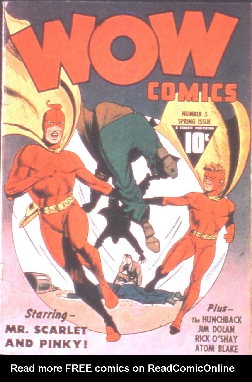 Wow Comics 5 Page 1
