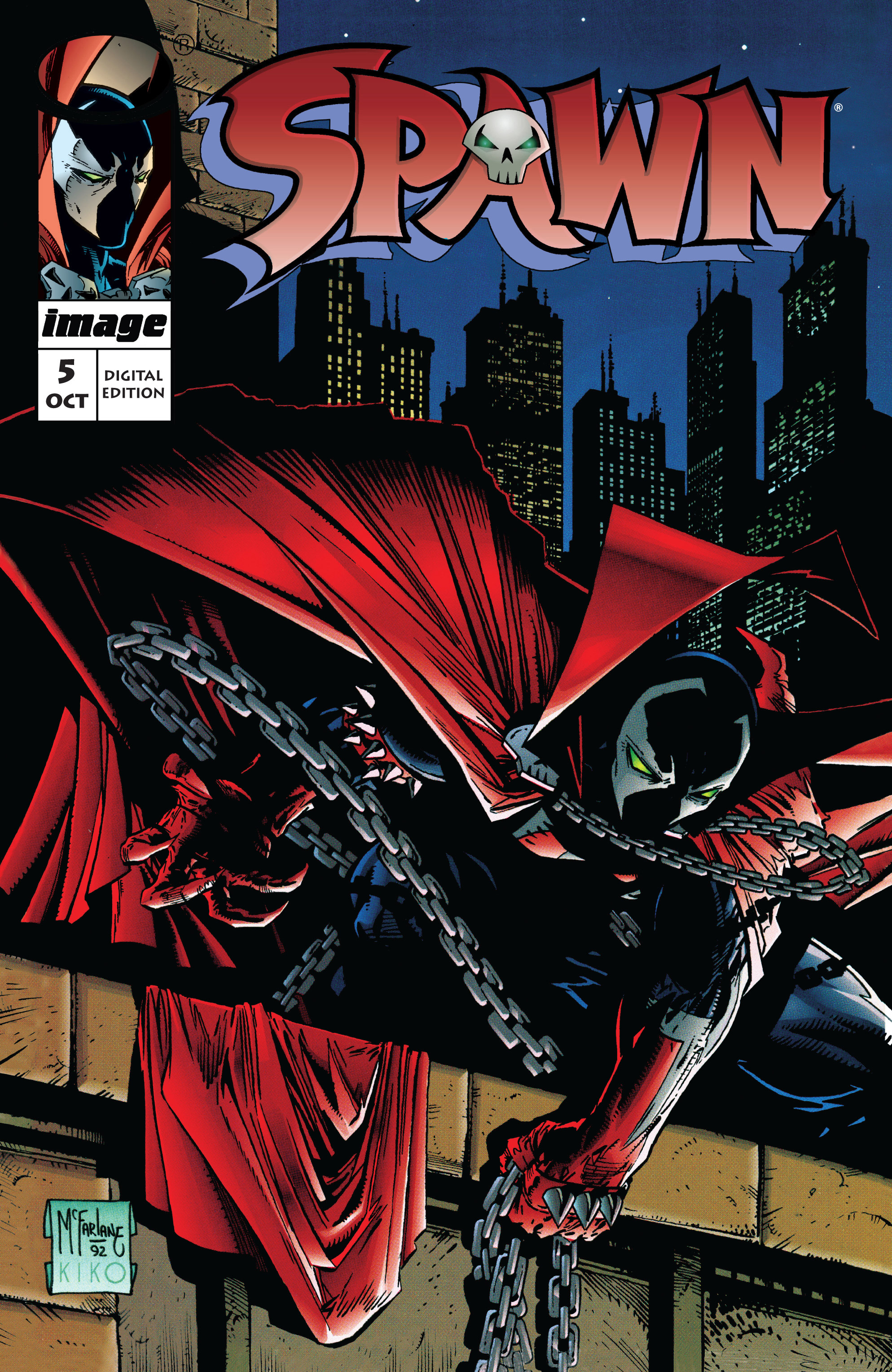 Spawn 5 Page 1