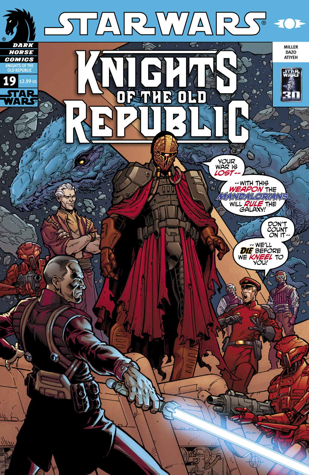 Star Wars: Knights Of The Old Republic issue 19 - Page 1
