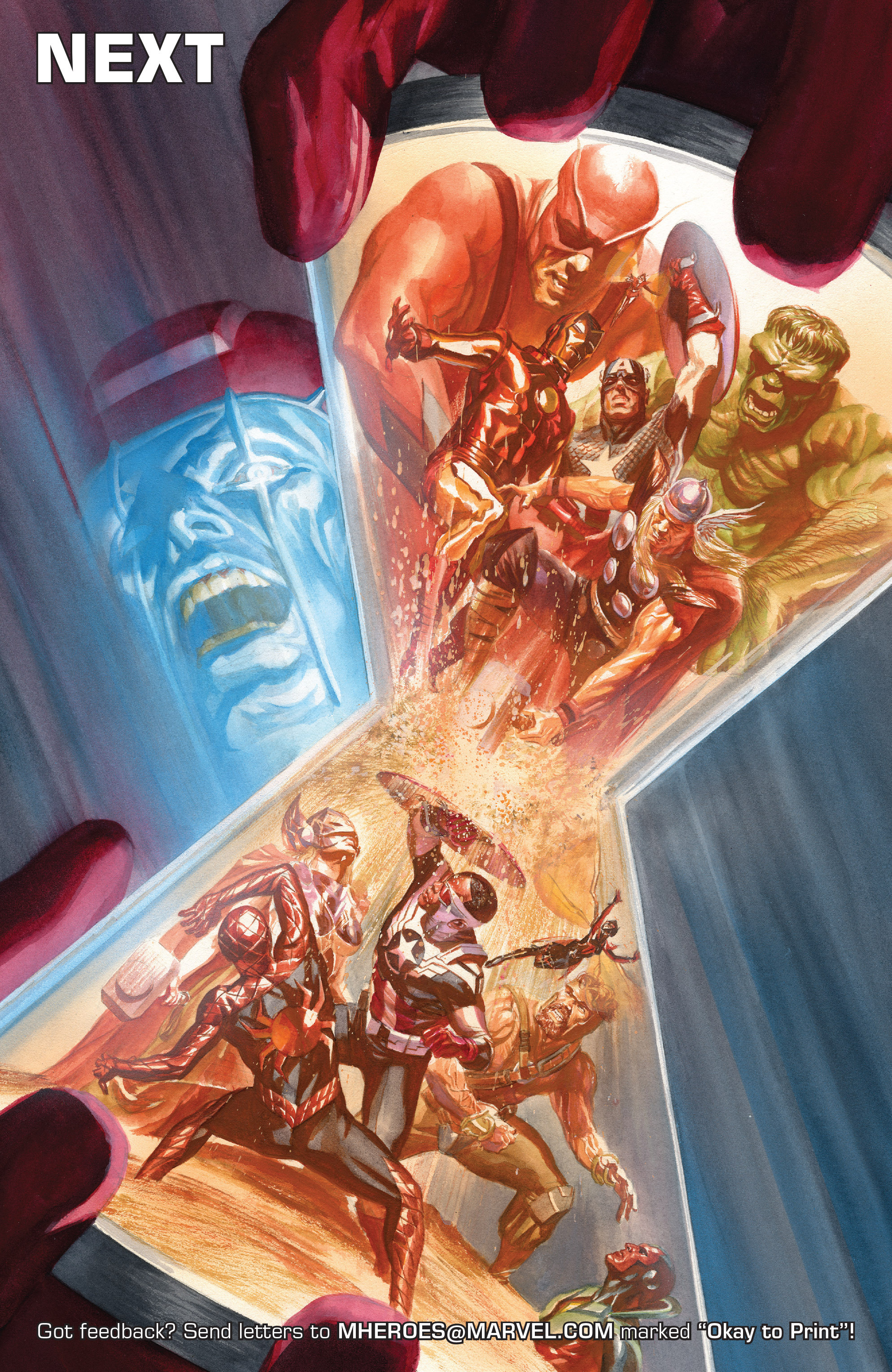 Read online Avengers (2016) comic -  Issue #5 - 23