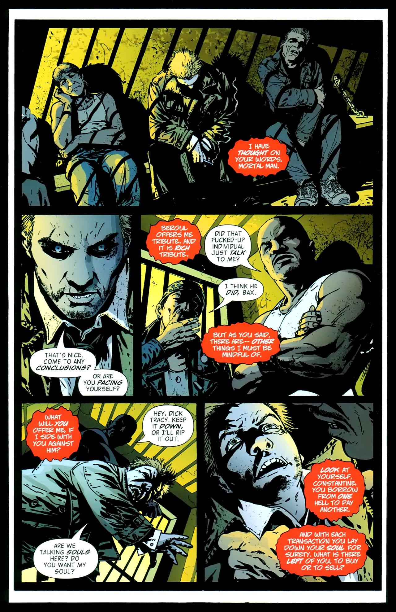 Read online John Constantine Hellblazer: All His Engines comic -  Issue # Full - 92