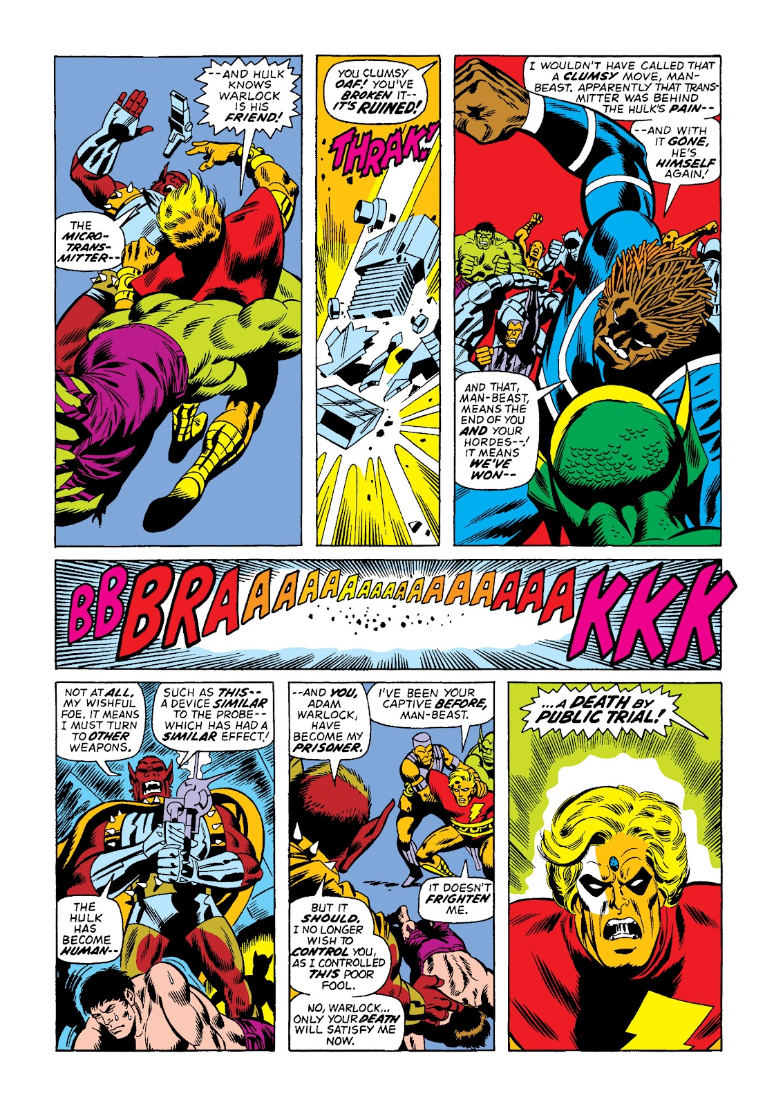 Read online Marvel Masterworks: The Incredible Hulk comic -  Issue # TPB 10 (Part 2) - 42