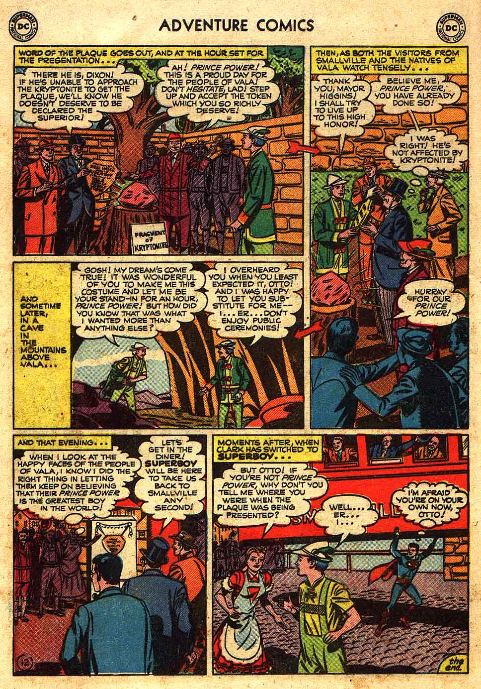 Read online Adventure Comics (1938) comic -  Issue #175 - 14