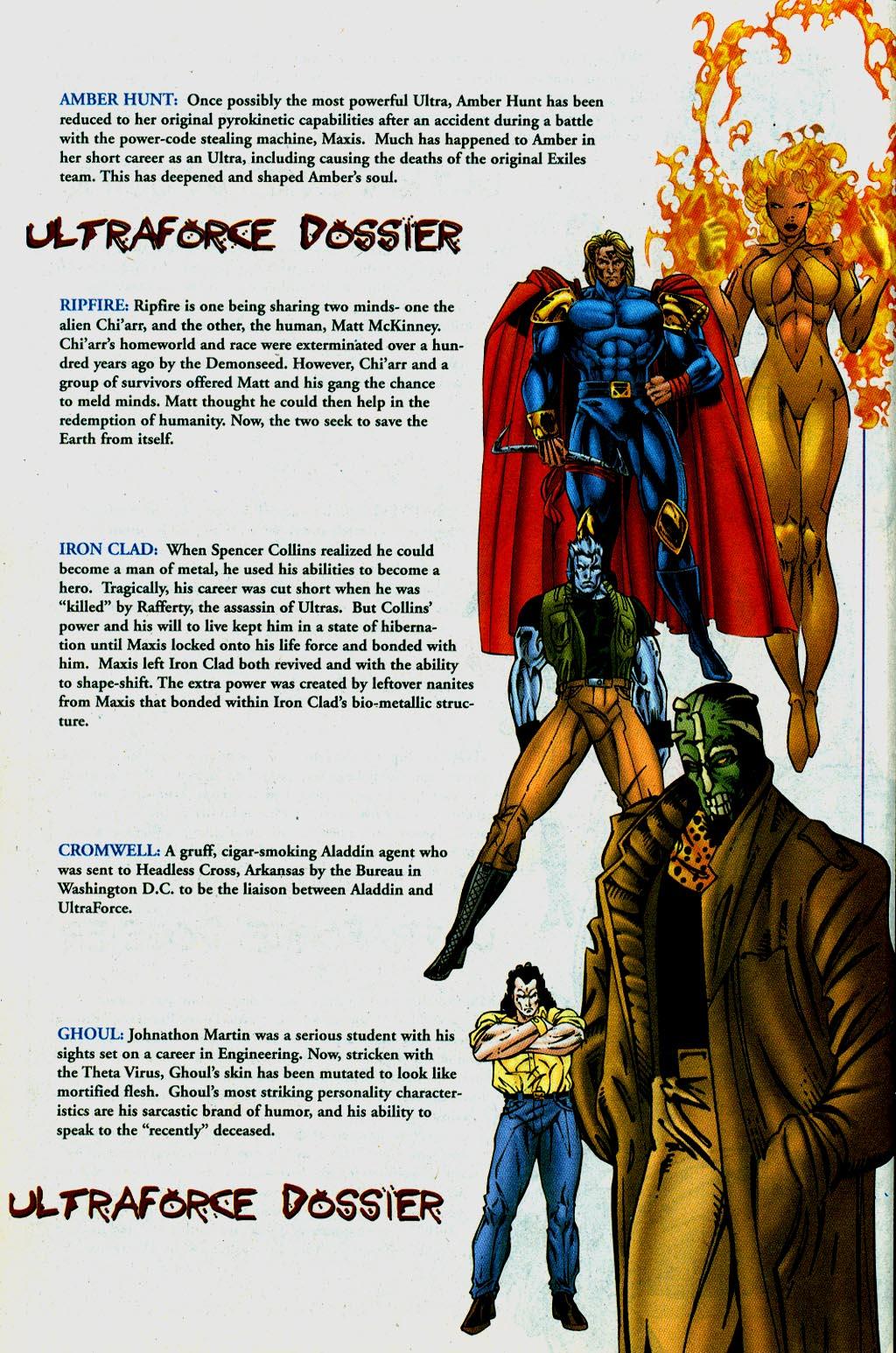 Read online UltraForce (1995) comic -  Issue #14 - 24
