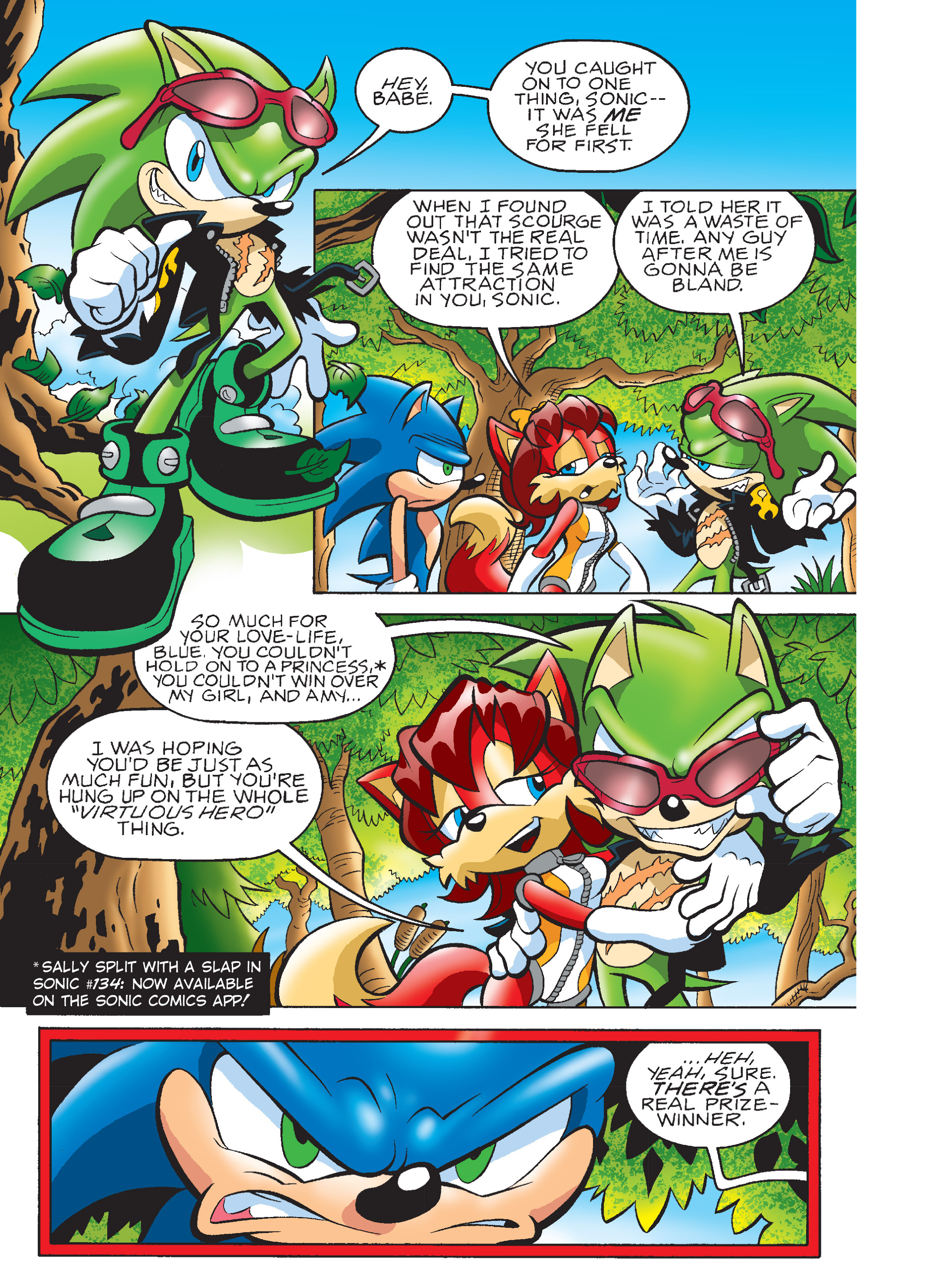Read online Sonic Super Digest comic -  Issue #7 - 89