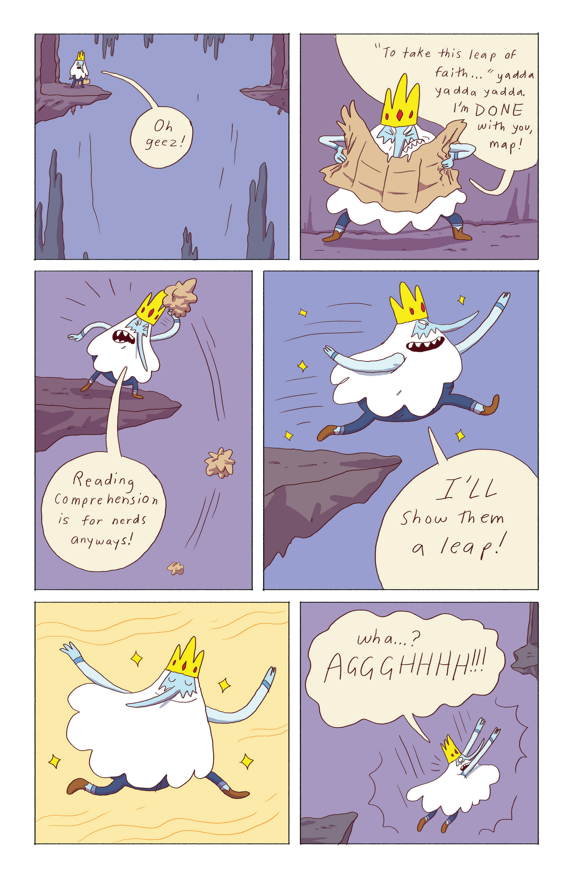 Read online Adventure Time: Ice King comic -  Issue #5 - 10