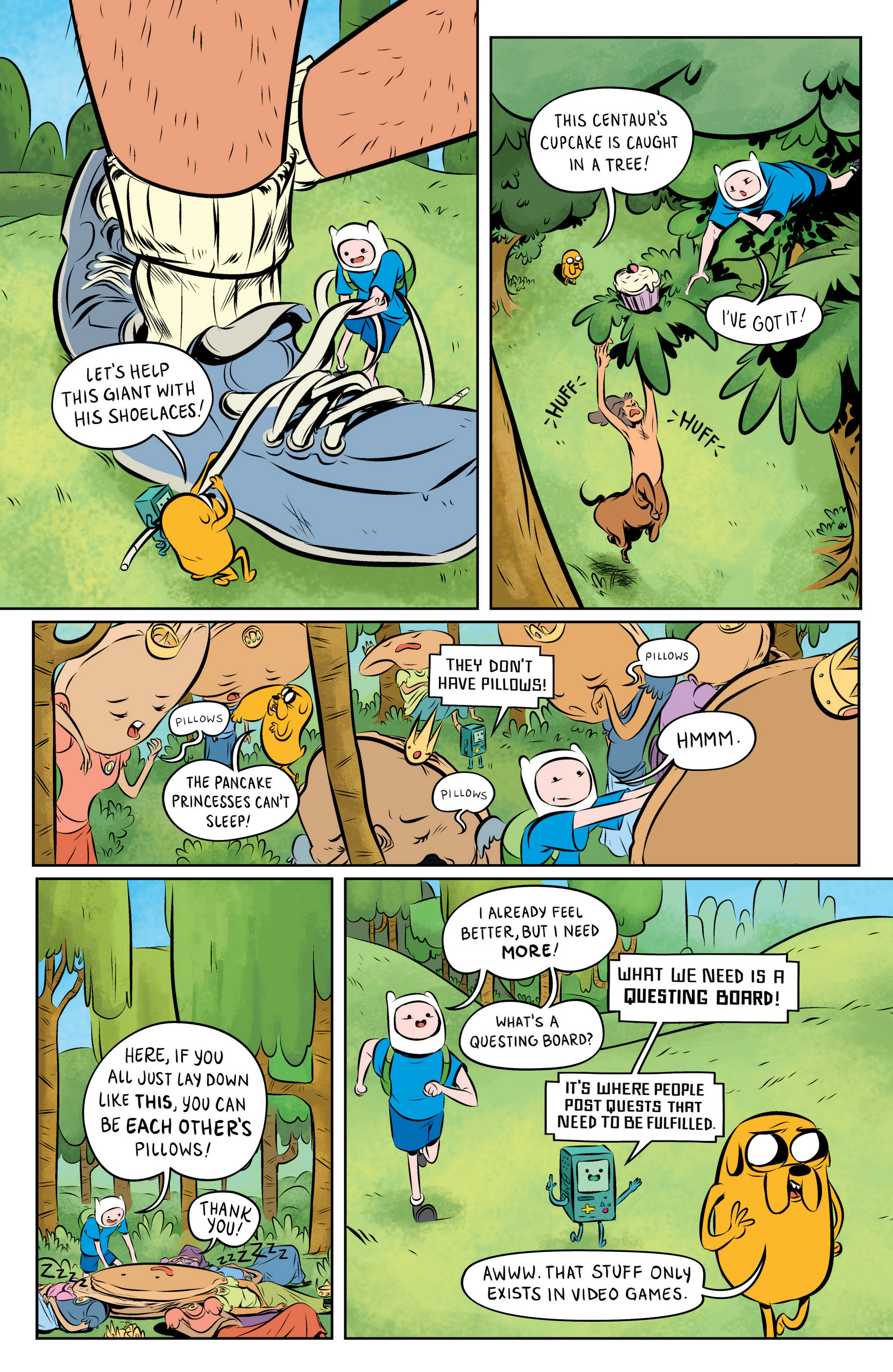Read online Adventure Time: The Flip Side comic -  Issue #1 - 8