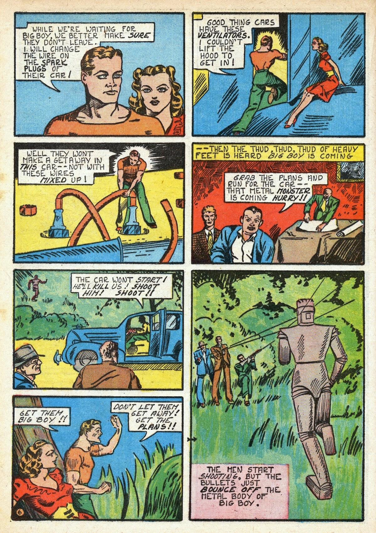 Read online Amazing Man Comics comic -  Issue #16 - 28