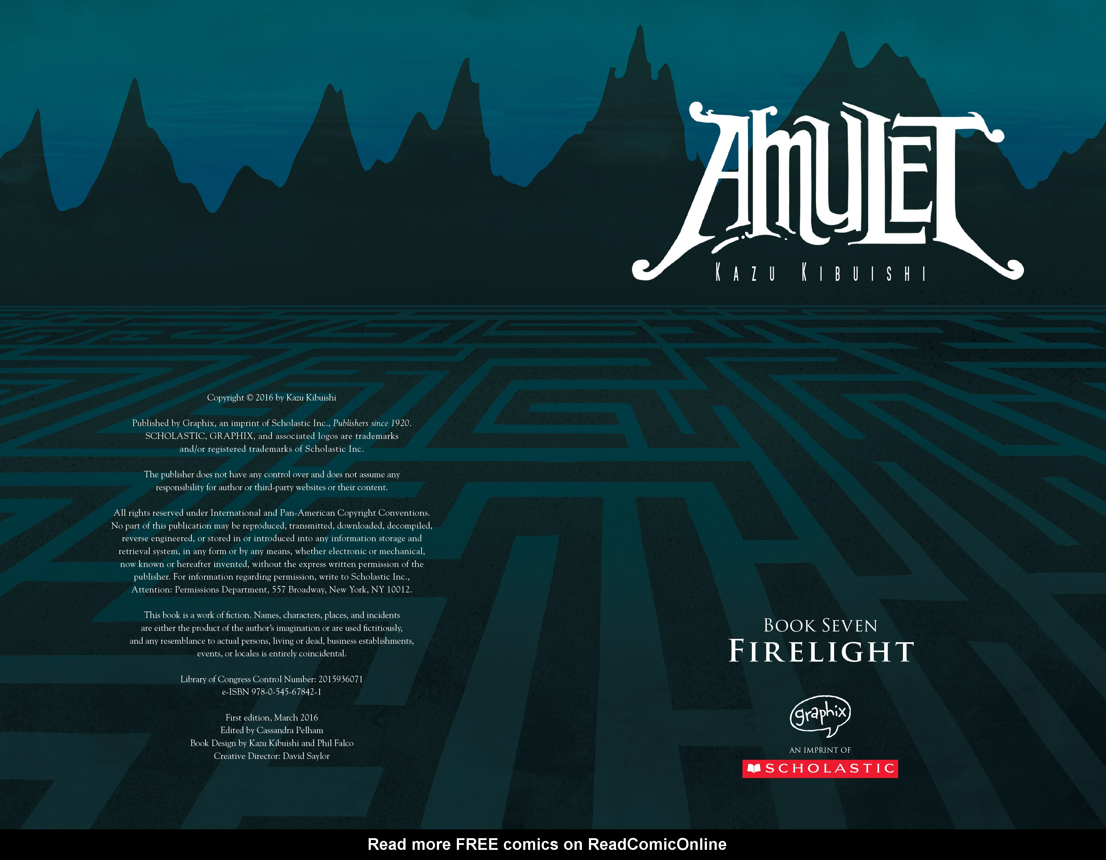 Read online Amulet comic -  Issue #7 - 4