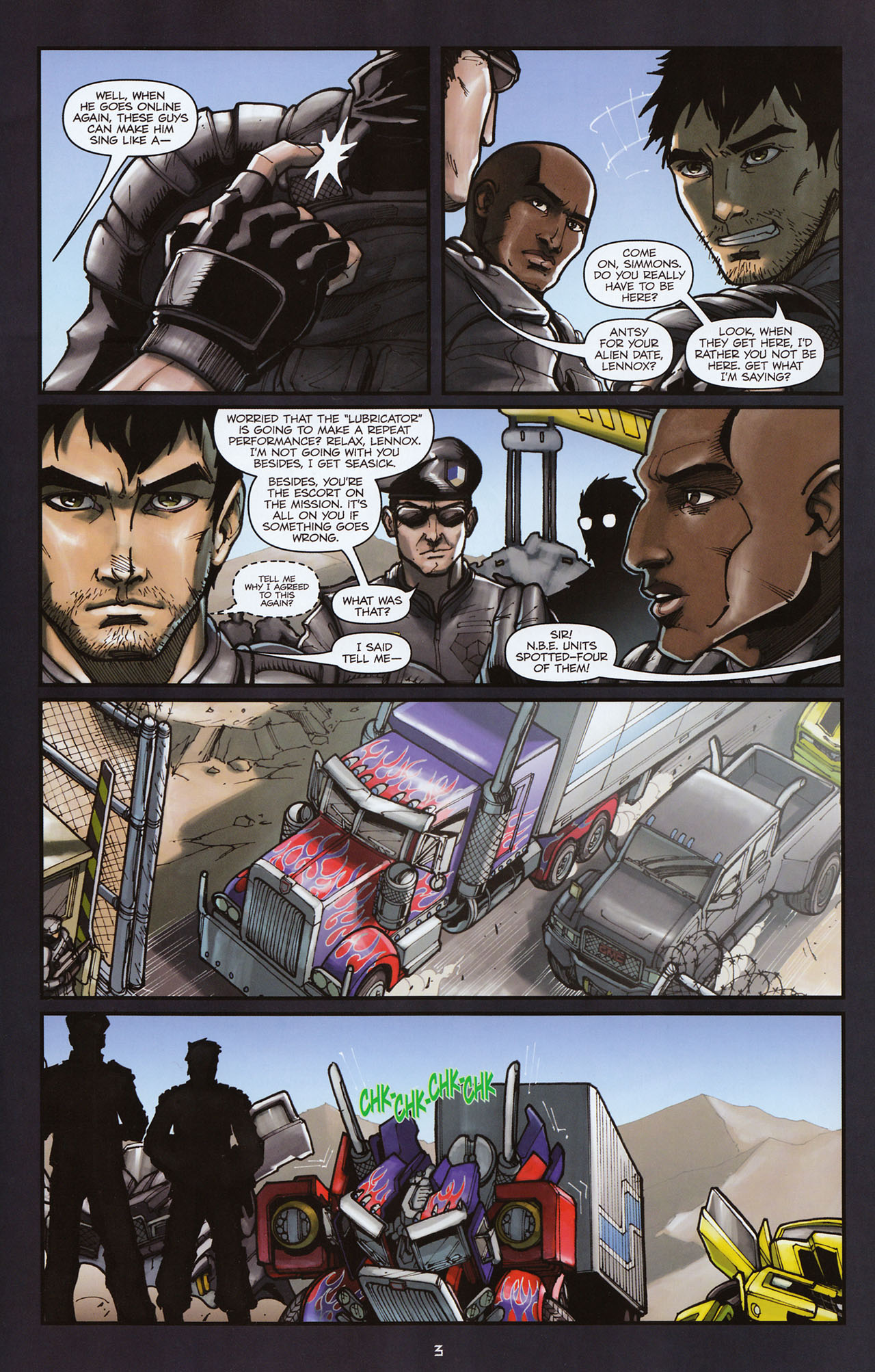 Read online Transformers: Alliance comic -  Issue #2 - 6