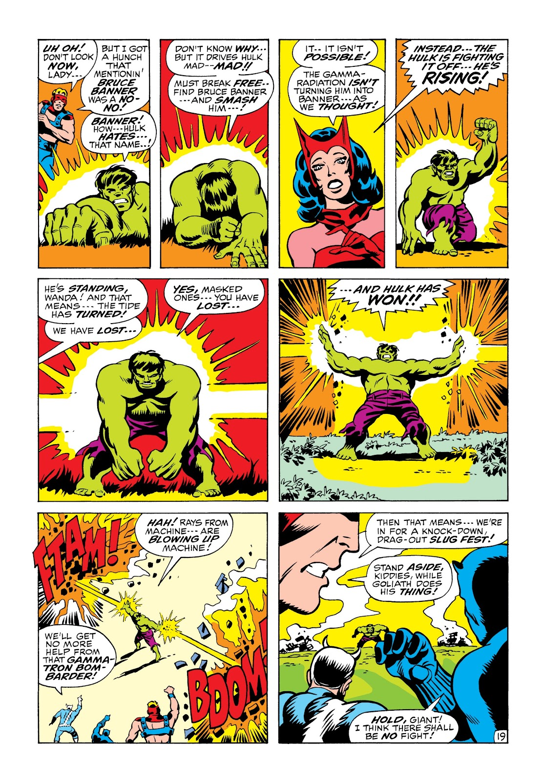 Read online Marvel Masterworks: The Incredible Hulk comic -  Issue # TPB 6 (Part 2) - 52