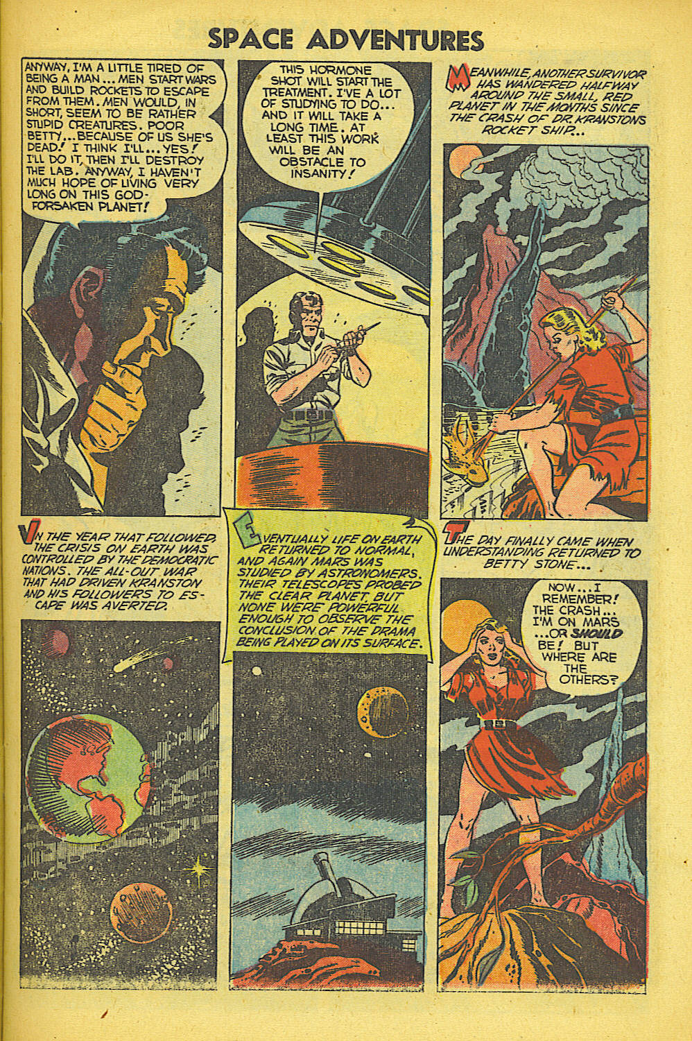 Read online Space Adventures comic -  Issue #7 - 8