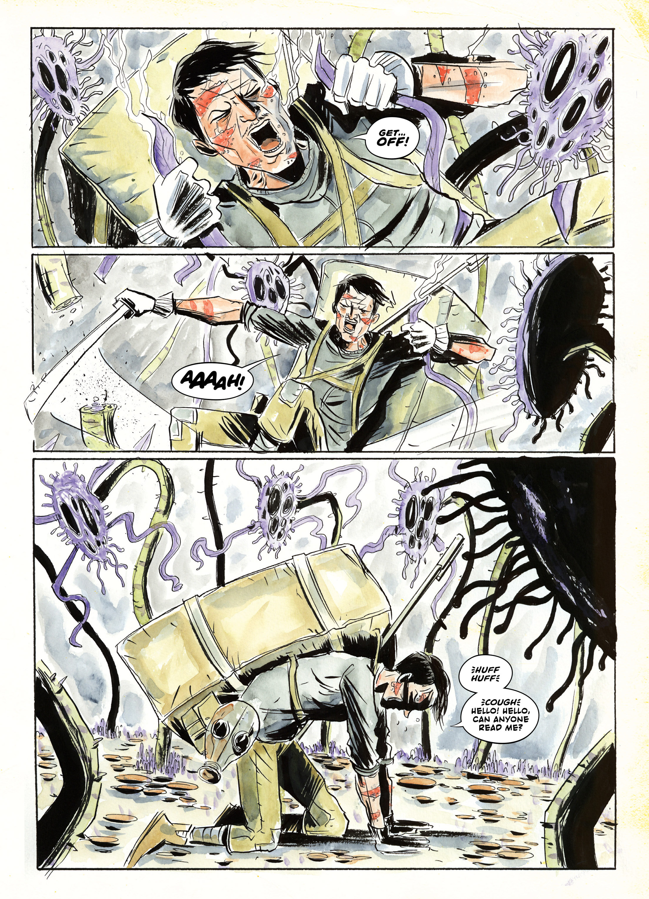 Read online A.D.: After Death comic -  Issue #2 - 6