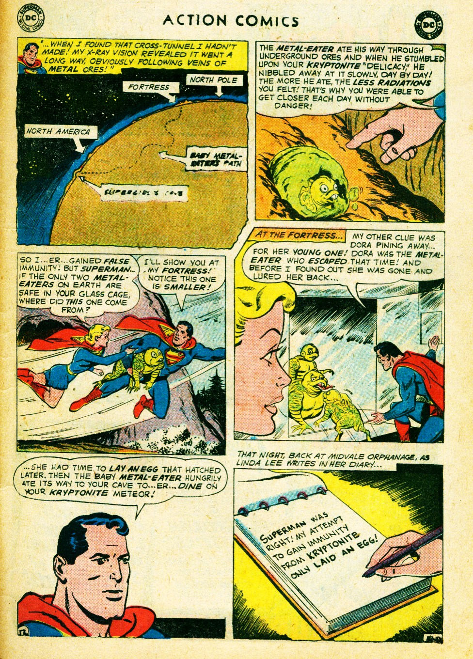 Read online Action Comics (1938) comic -  Issue #262 - 31