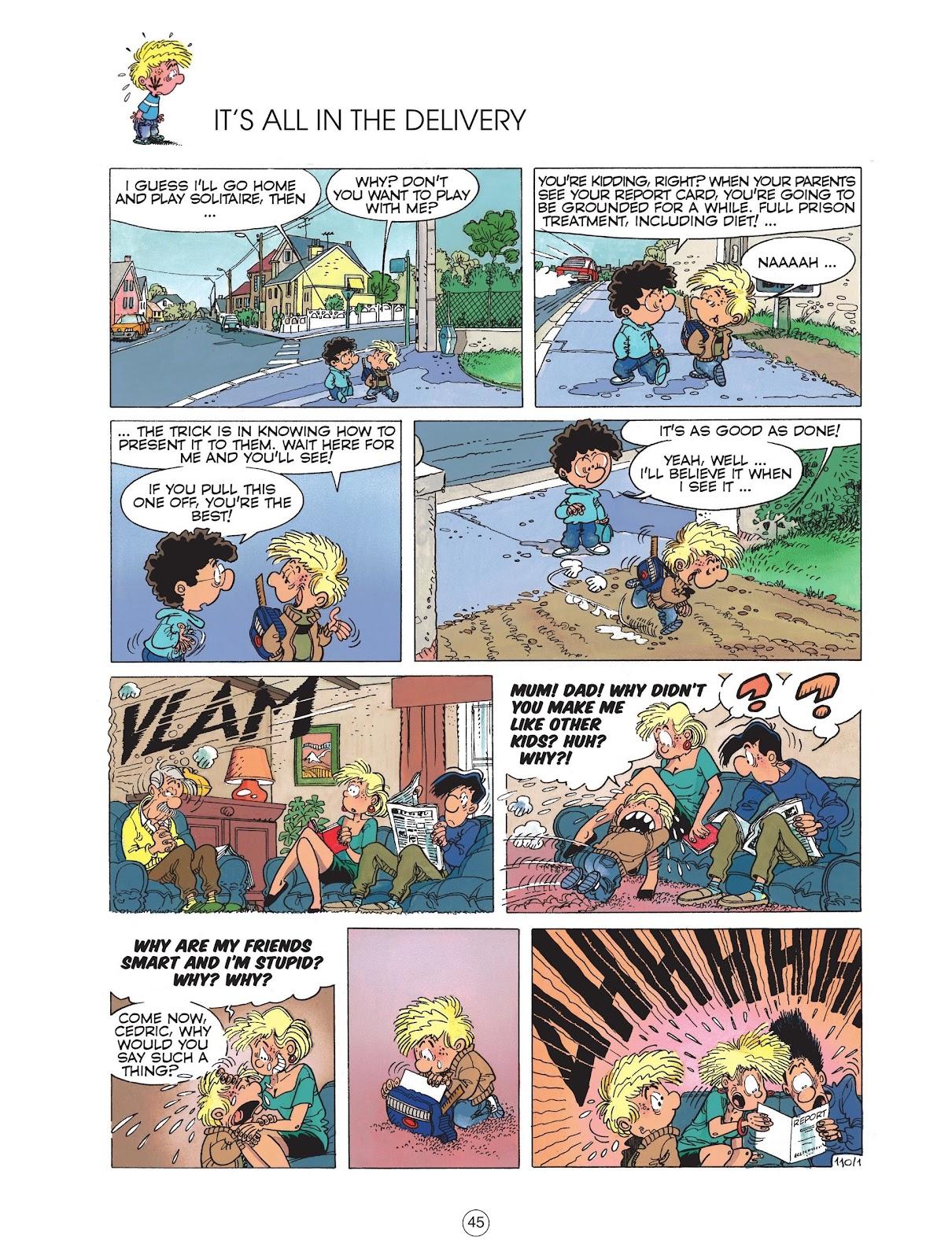 Read online Cedric comic -  Issue #6 - 47